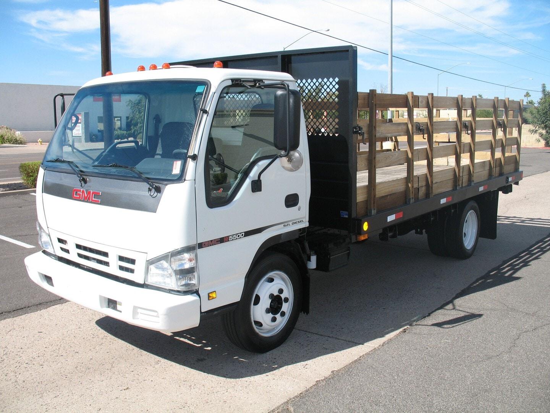 Used, 2007, GMC, W-5500, Stake Trucks