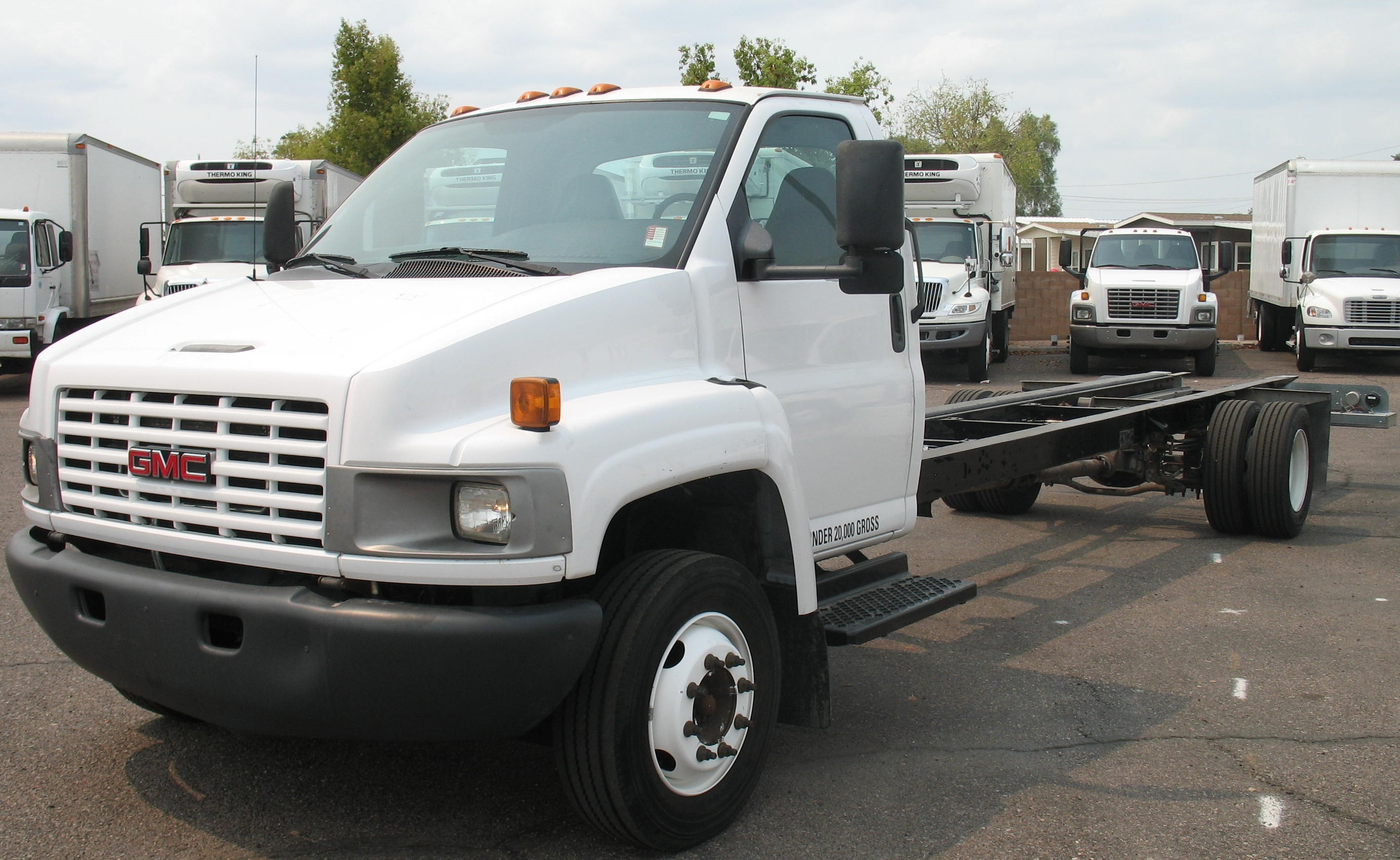 Used, 2006, GMC, C5500, Van Trucks