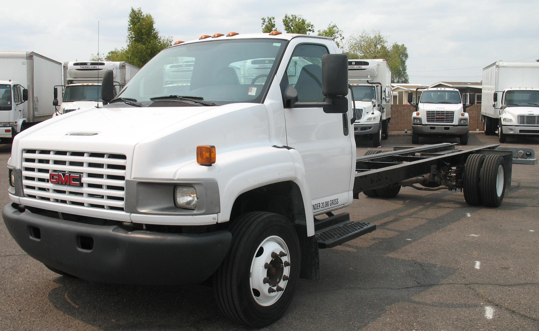 Used, 2006, GMC, C5500, Van Trucks