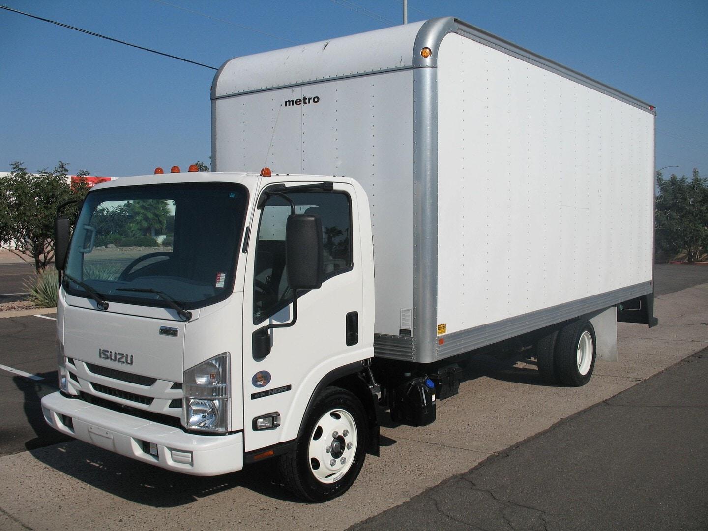 Used, 2020, Isuzu, NRR Diesel, Box Trucks