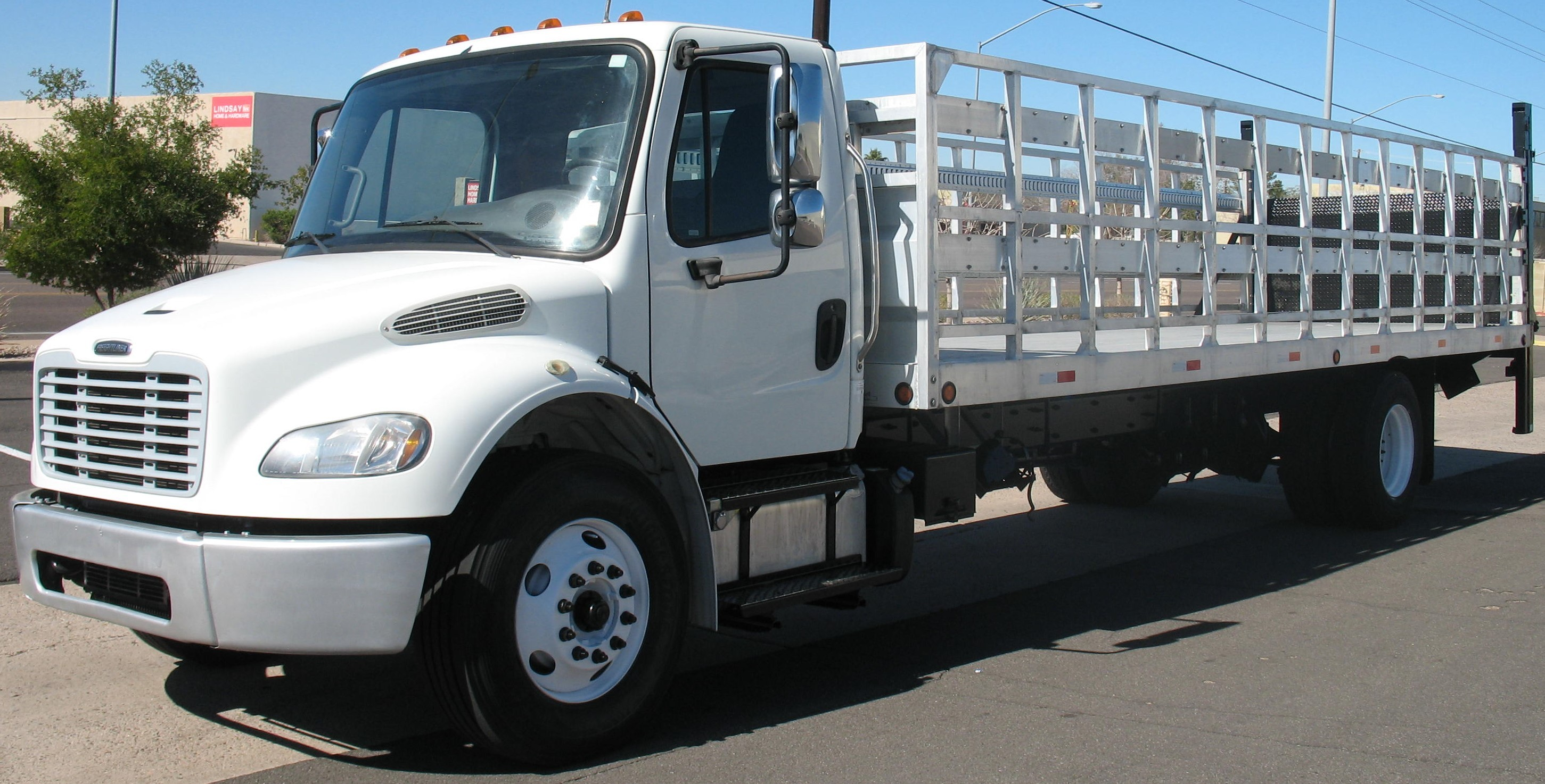 Used, 2016, Freightliner, M2 Business Class 106, Stake Trucks