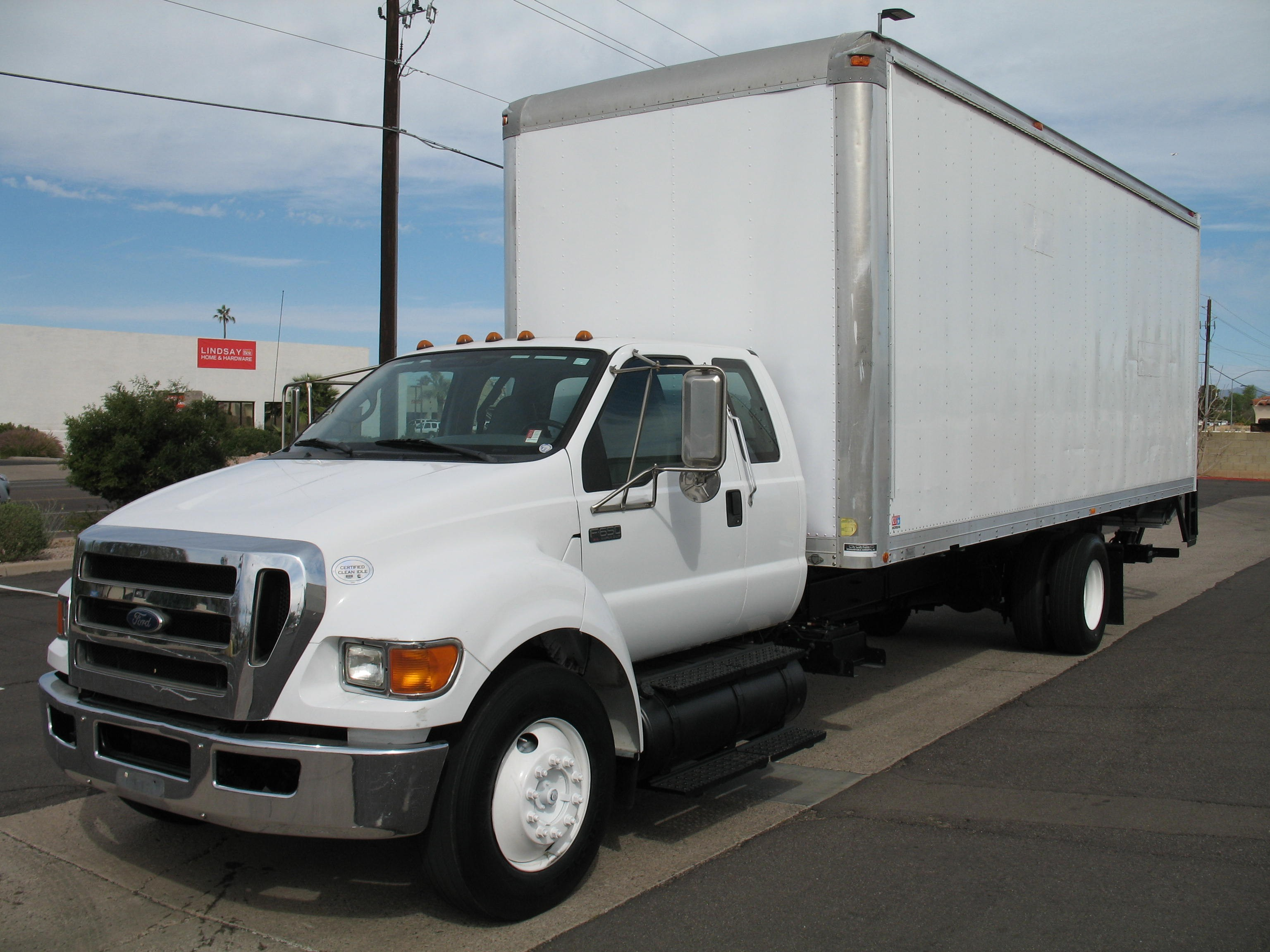 Used, 2010, Ford, F-650 SD XL Supercab, Van Trucks