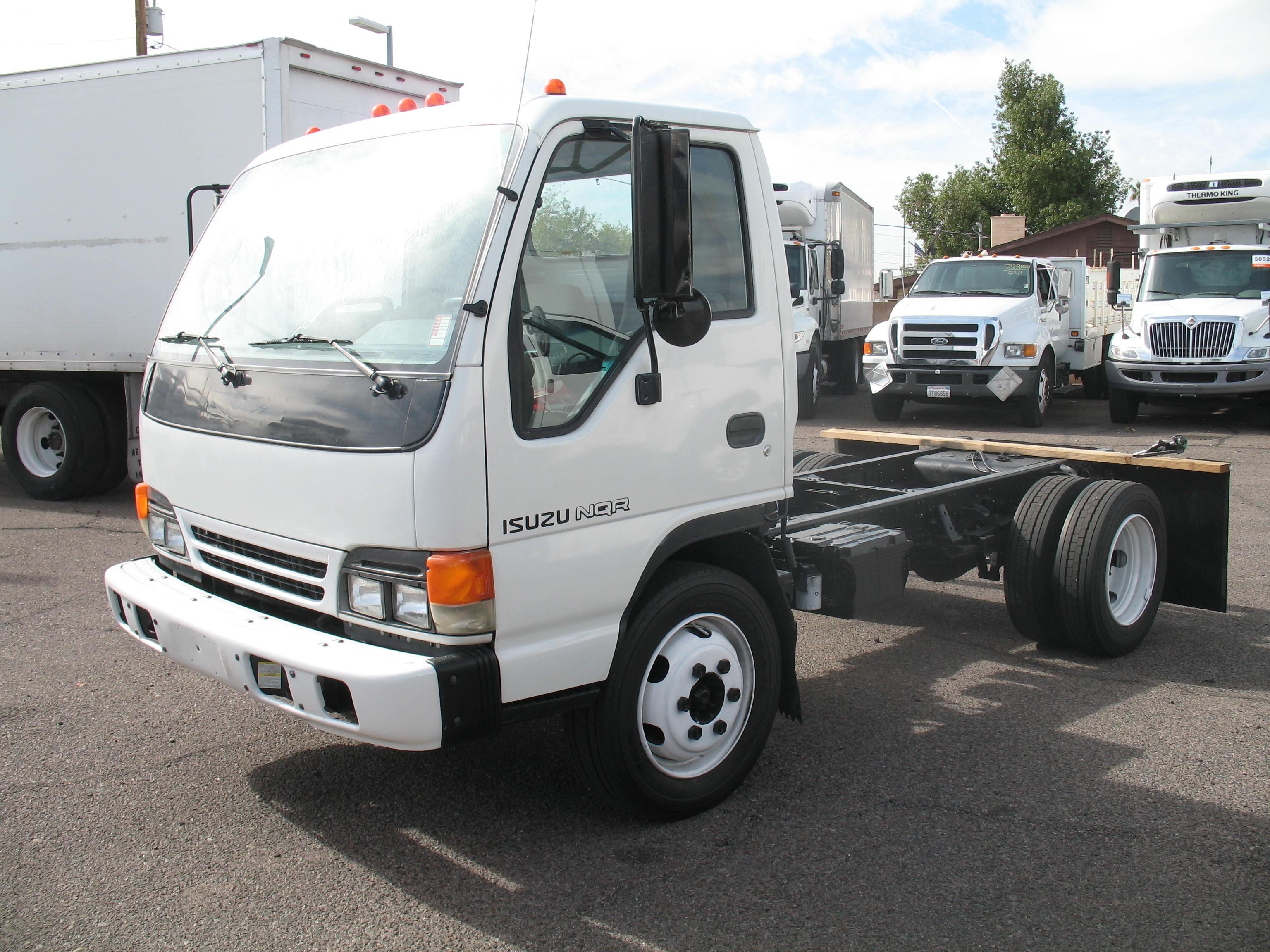 Used, 2005, Isuzu, NQR Diesel, Cab / Chassis Trucks