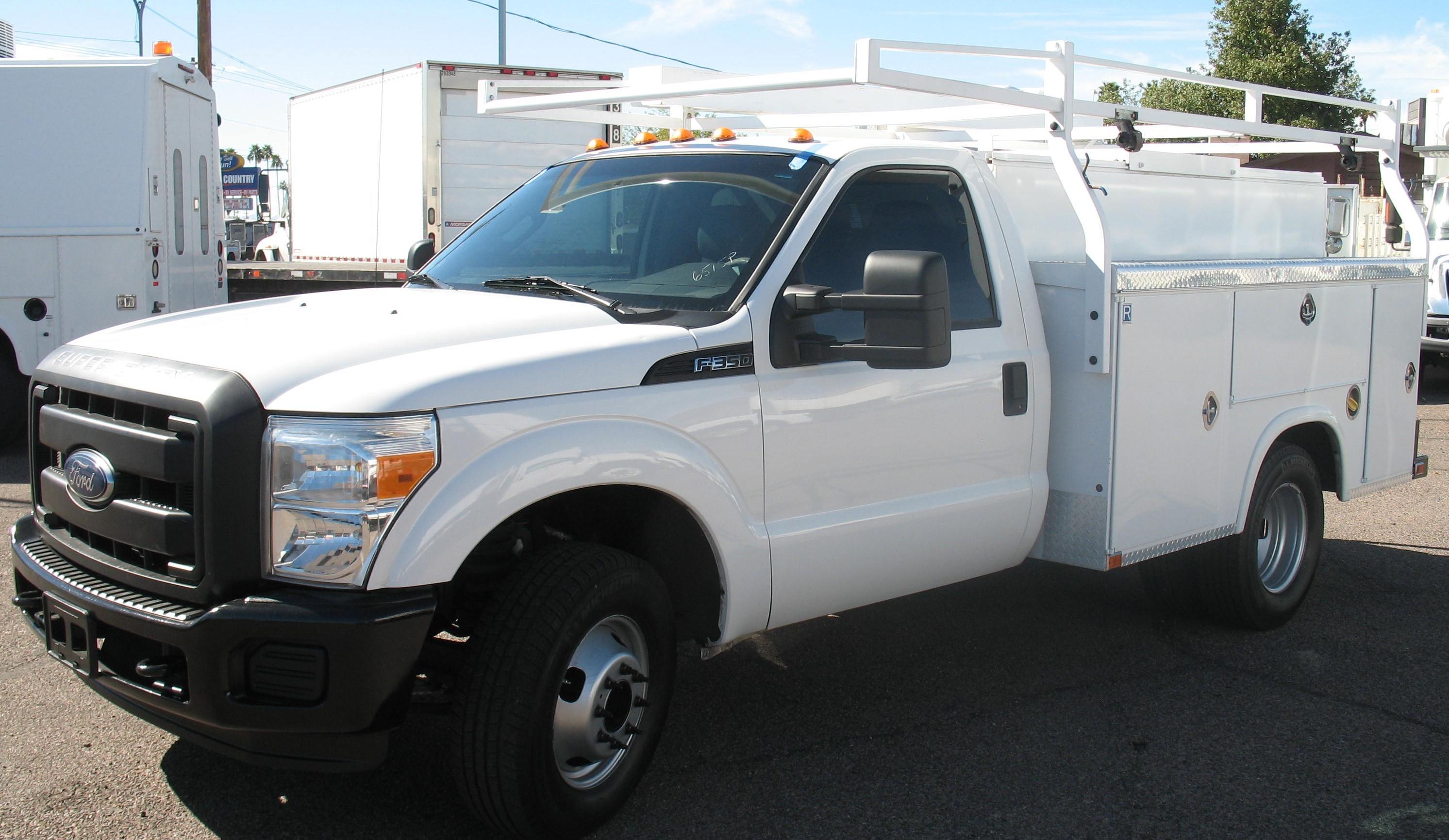 Used, 2015, Ford, F-350 SD XL, Service / Utility Trucks
