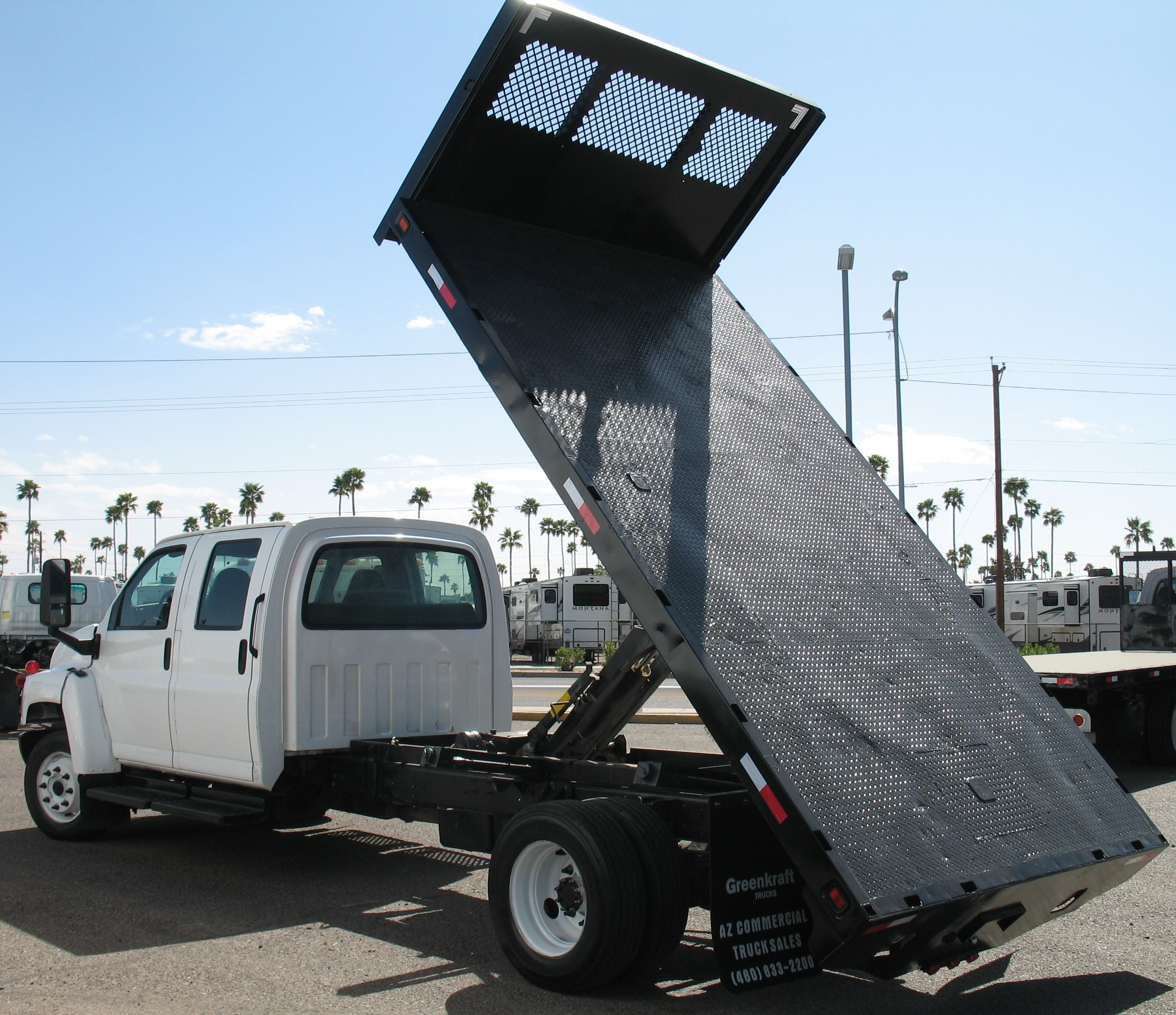 Used, 2004, Chevrolet, C-4500 CREWCAB, Dump Trucks