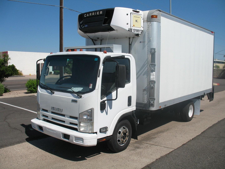 Used, 2010, Isuzu, NPR , Reefer Trucks
