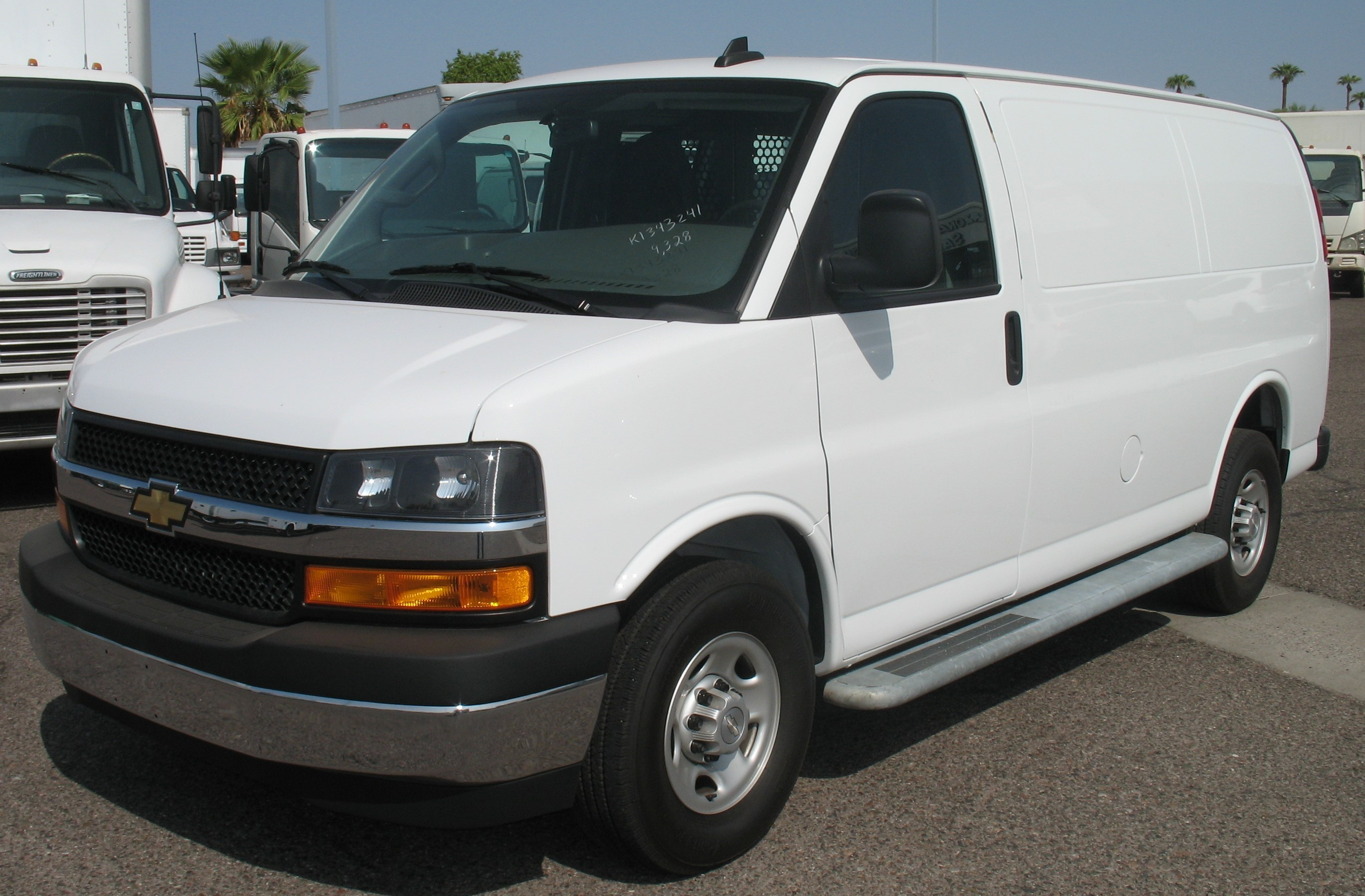 Used, 2019, Chevrolet, EXPRESS 2500, Vans