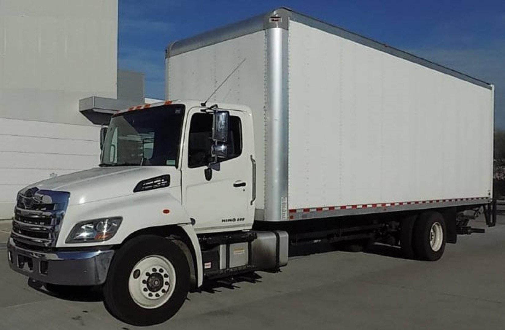 Used, 2019, Hino, 268, Box Trucks