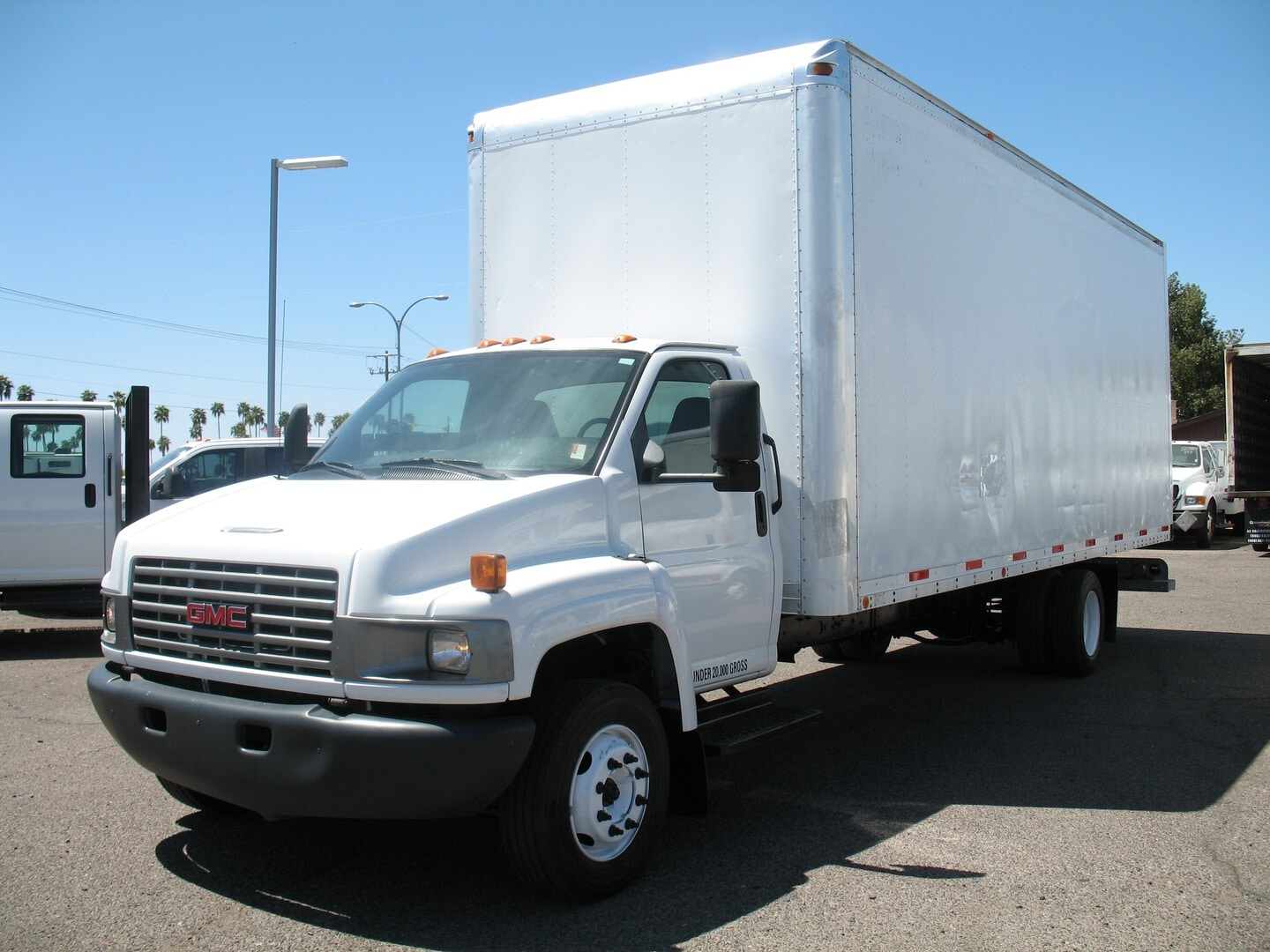 Used, 2006, GMC, C-5500 Topkick, Box Trucks