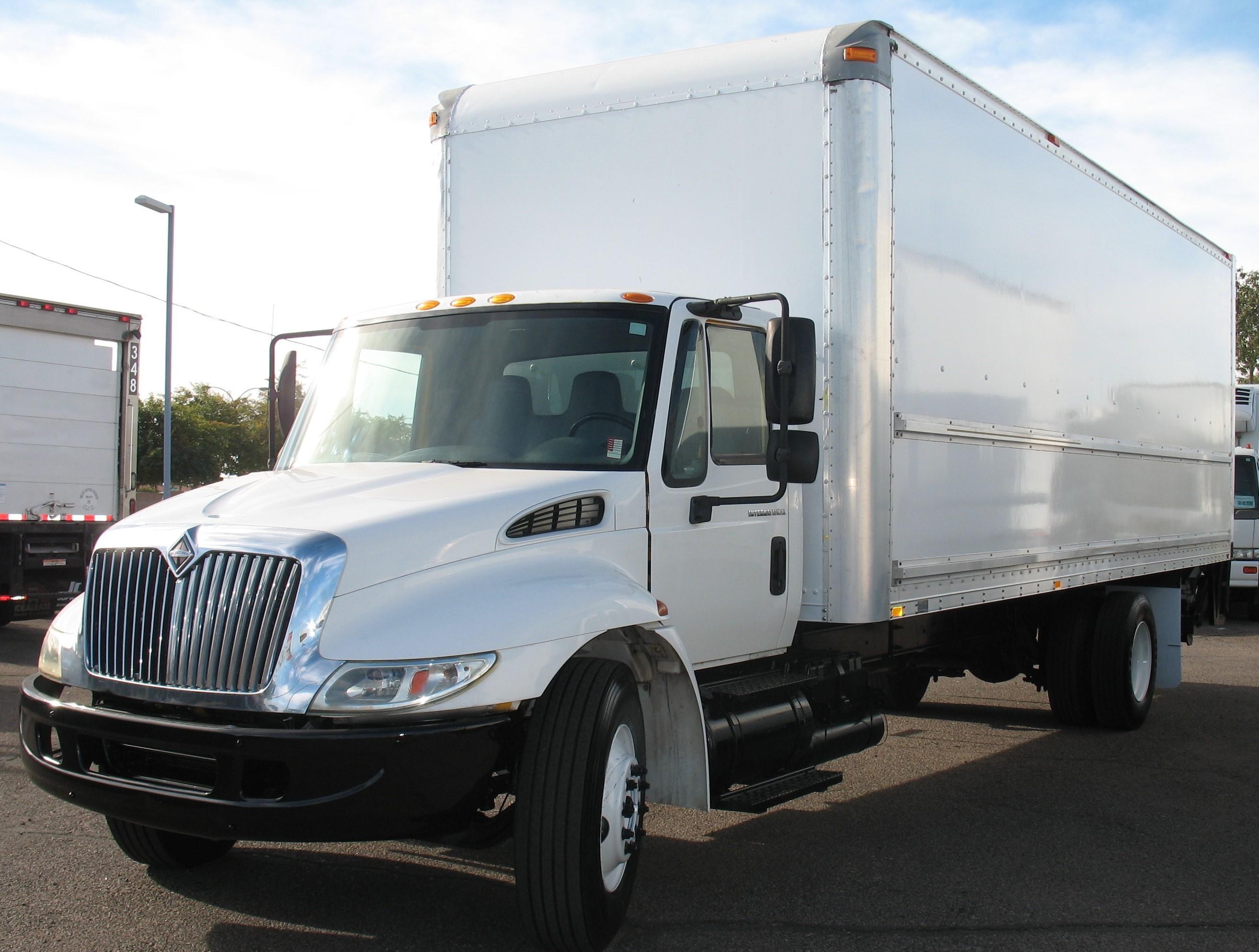 Used, 2006, International, 4300, Van Trucks