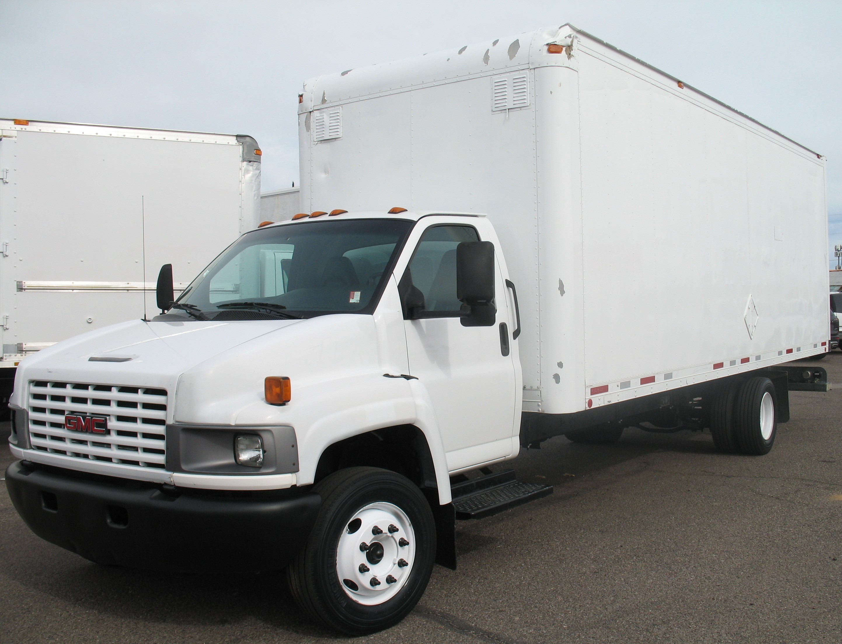 Used, 2006, GMC, C-5500 Topkick, Van Trucks