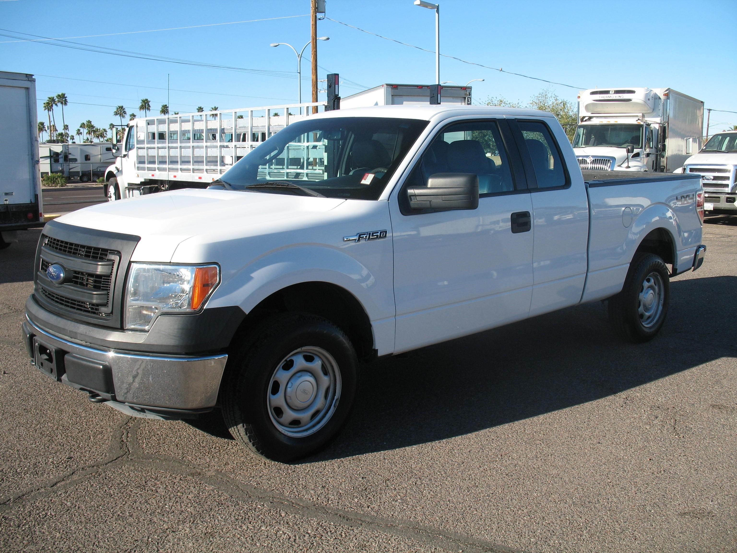 Used, 2014, Ford, FX4, Pickup Trucks