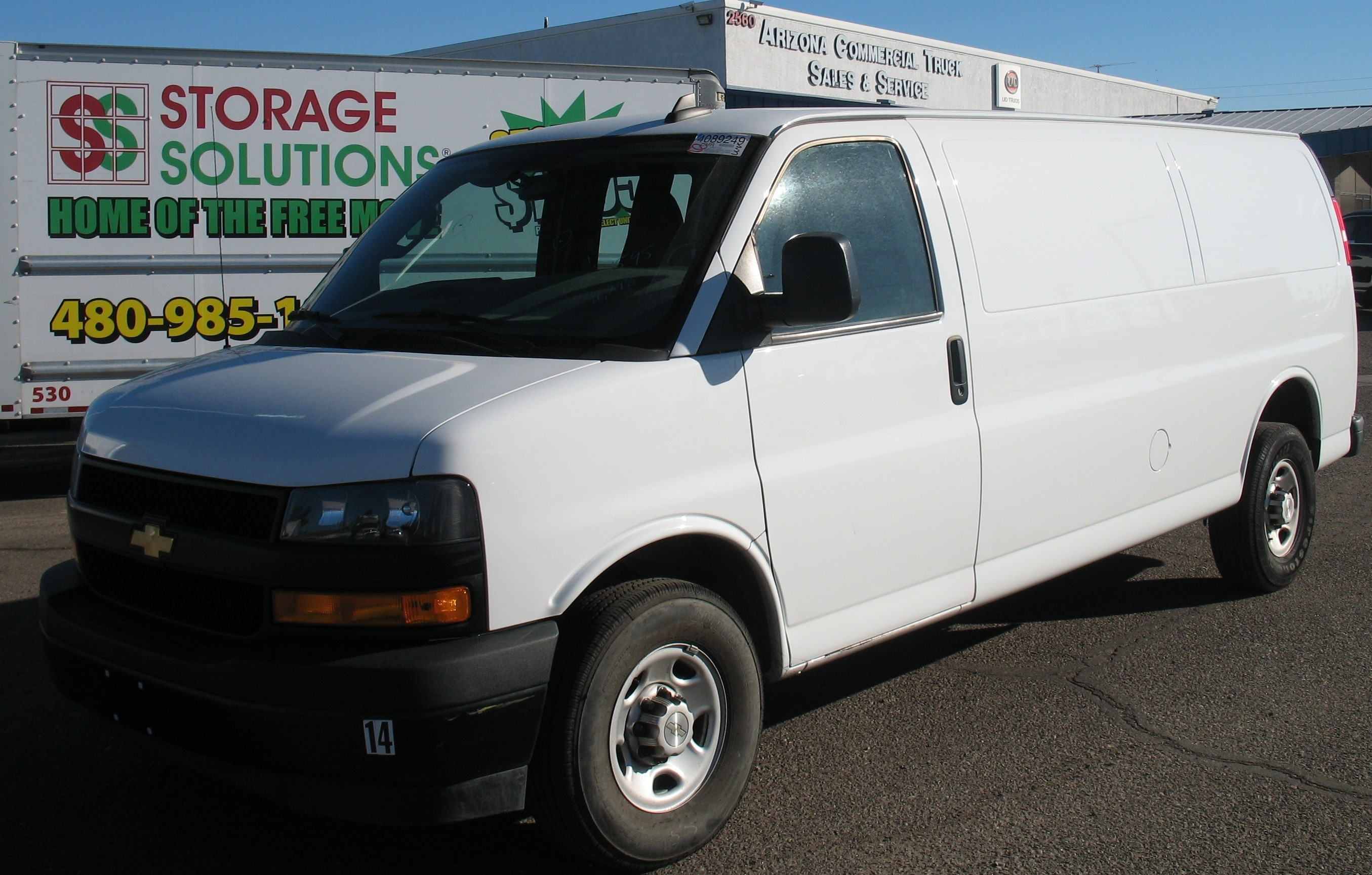 Used, 2020, Chevrolet, EXPRESS 2500 EXTENDED, Van Trucks