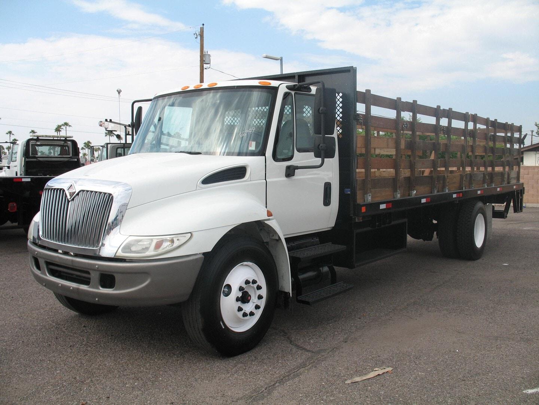 Used, 2007, International, 4300 DT466, Stake Trucks