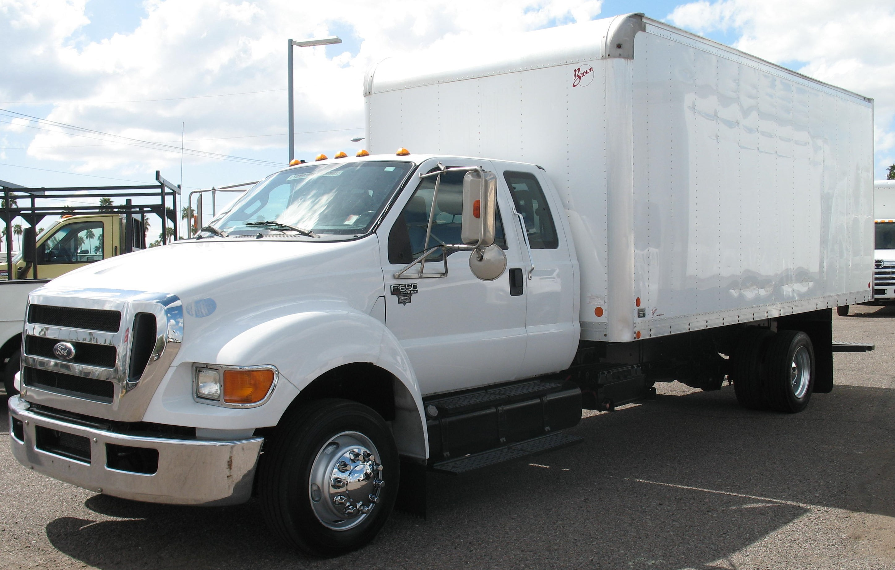 Used, 2012, Ford, F-650 Super Duty XLT Extended Cab, Van Trucks
