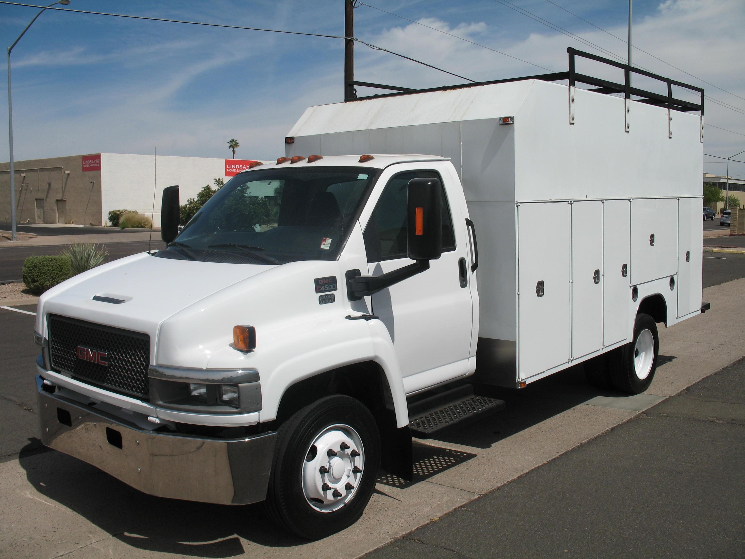 Used, 2005, GMC, C-4500 TOPKICK, Service / Utility Trucks