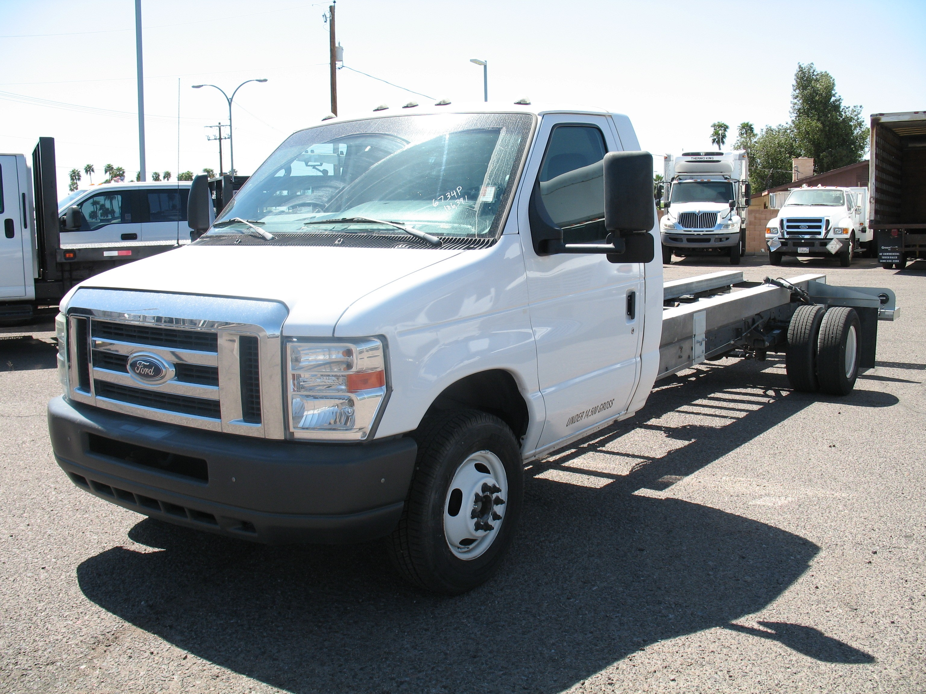 Used, 2011, Ford, E-450 , Cab / Chassis Trucks