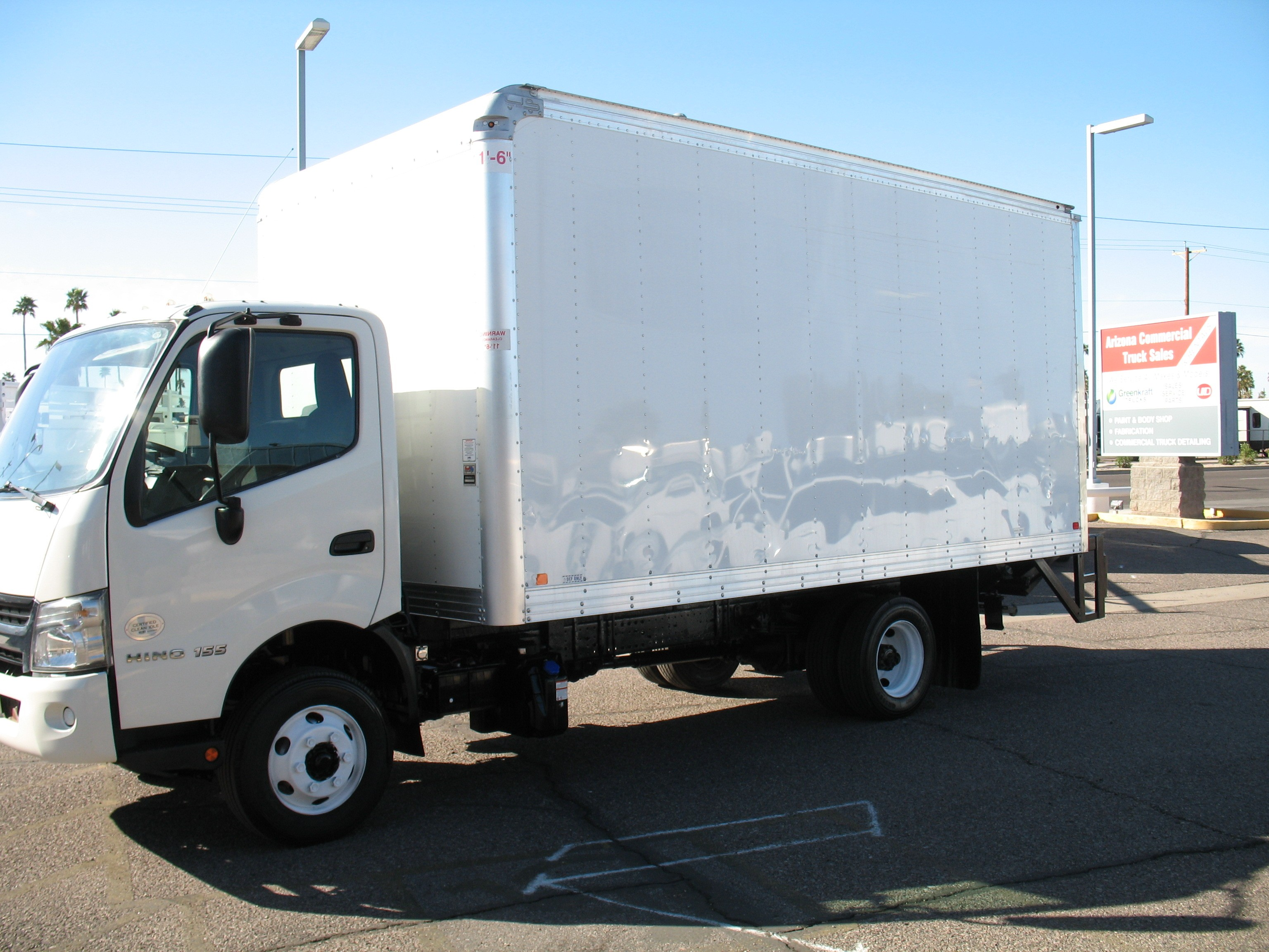 Used, 2017, Hino, 155, Van Trucks