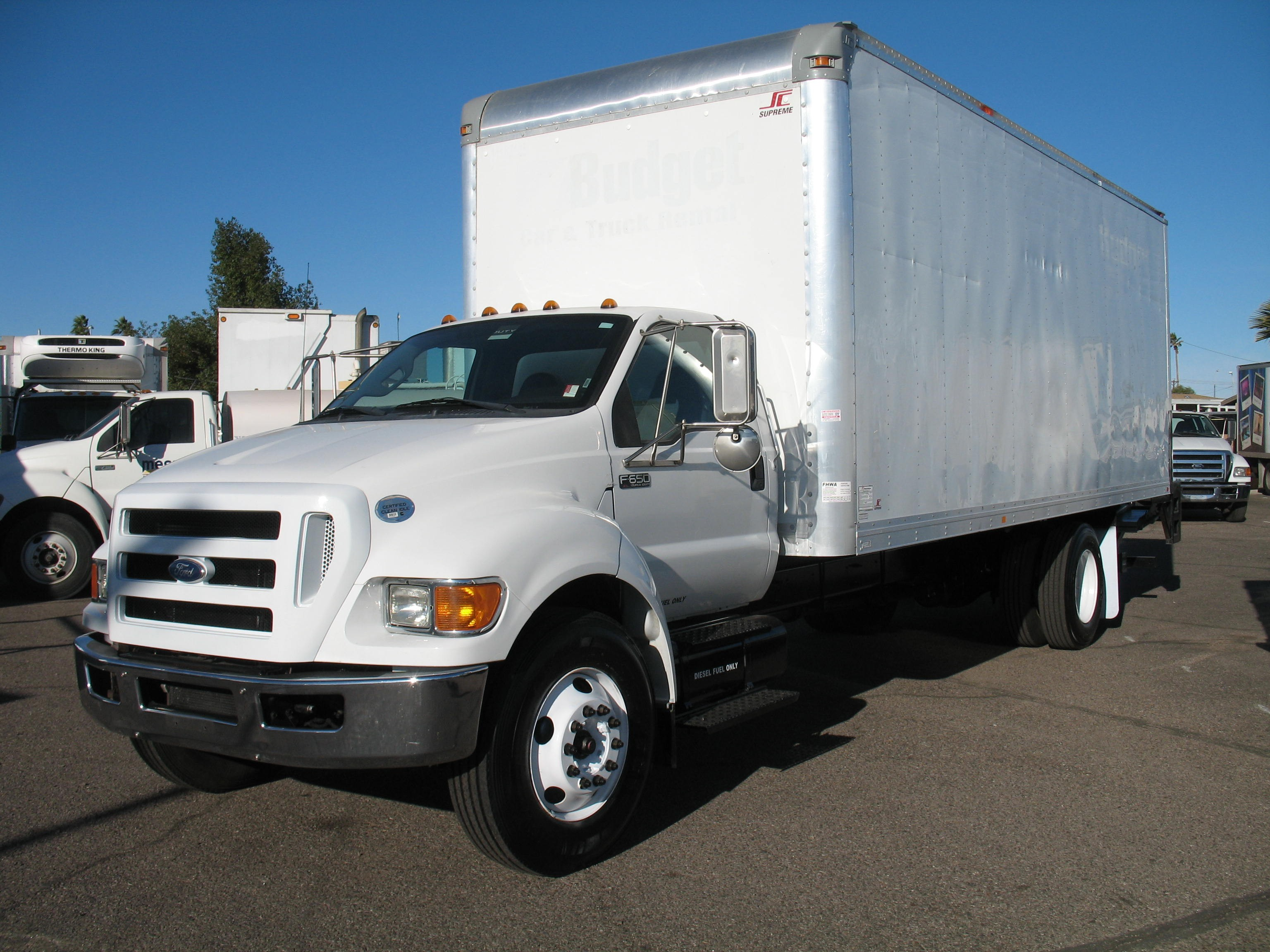 Used, 2011, Ford, F-650 SD XL, Van Trucks