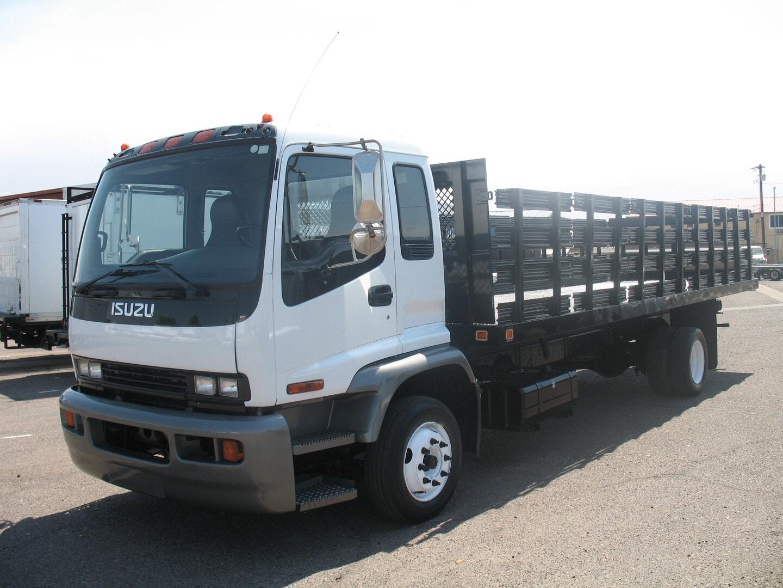 Used, 2007, Isuzu, FTR, Stake Trucks