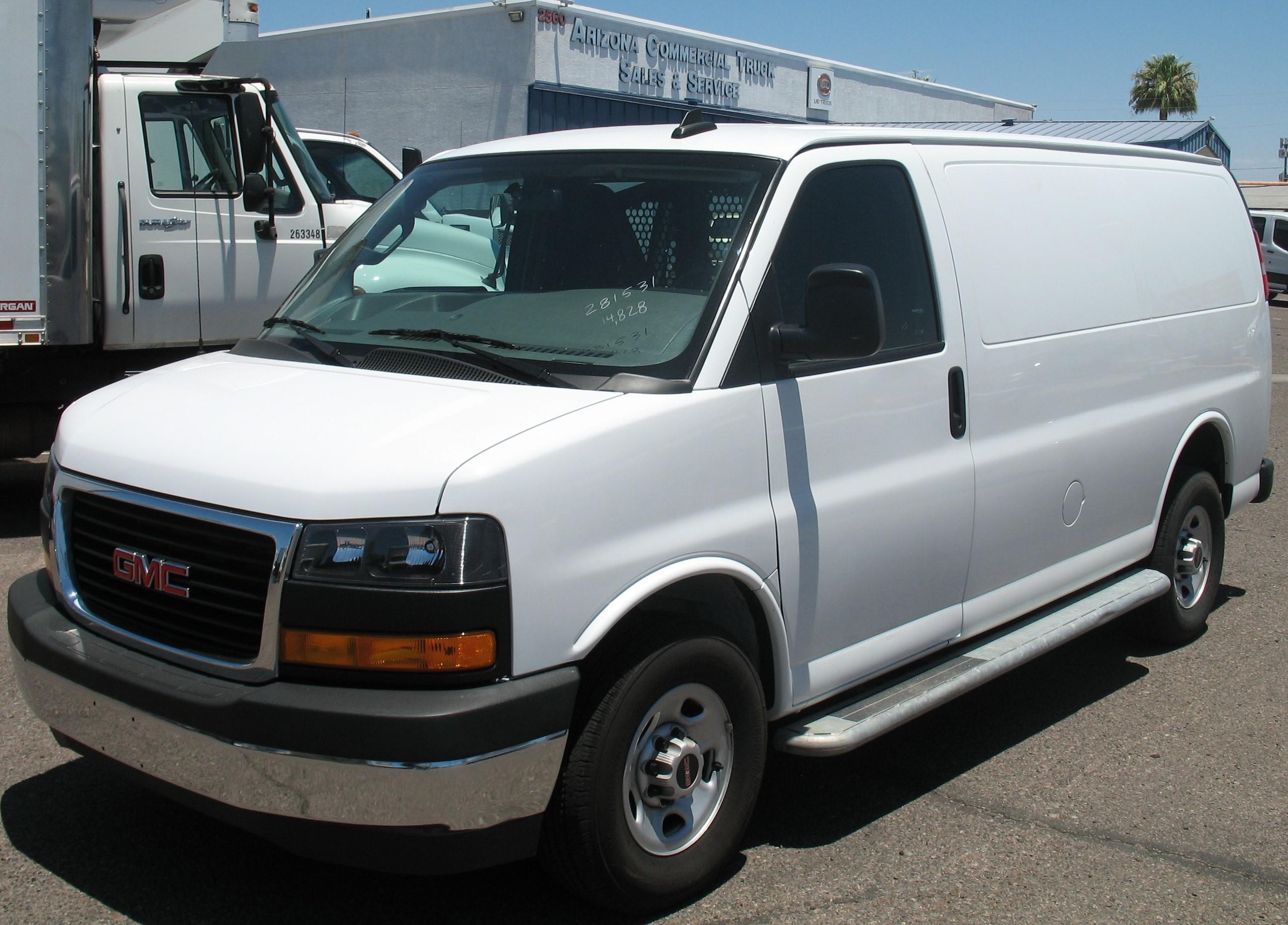 Used, 2019, GMC, G2500 Savana, Van Trucks