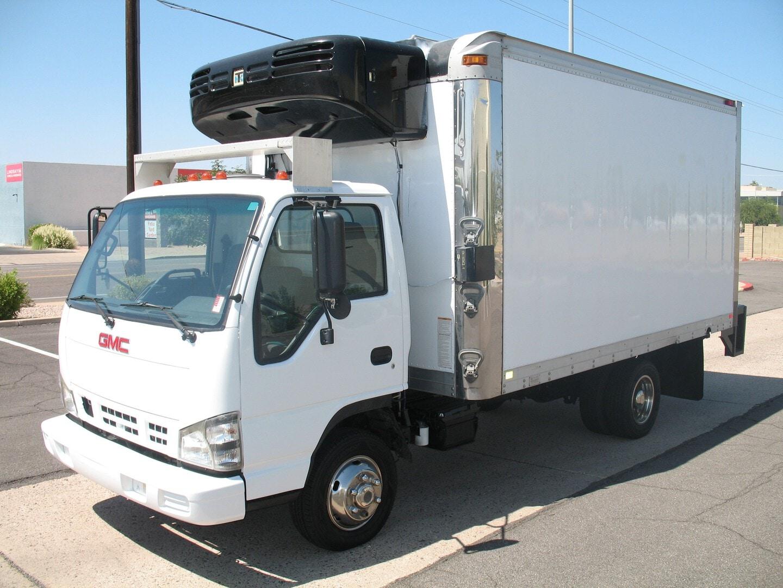 Used, 2007, GMC, W-4500, Reefer Trucks