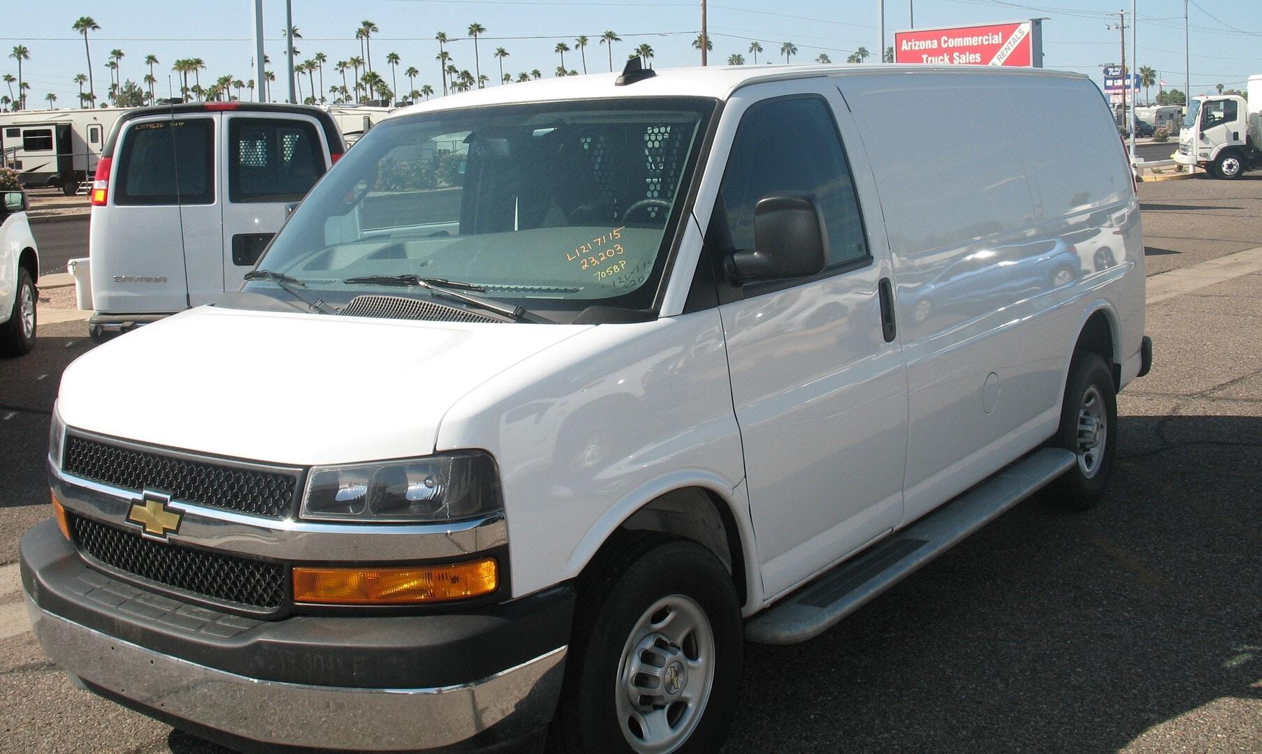 Used, 2020, Chevrolet, 2500 Express, Vans