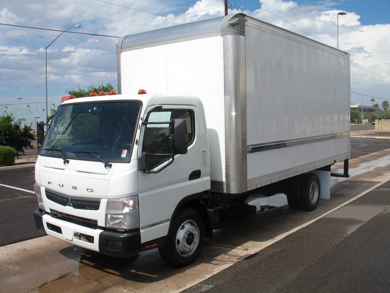 Used, 2020, Mitsubishi Fuso, FE 160, Box Trucks