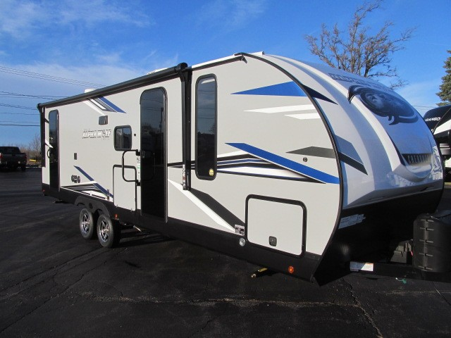New, 2021, Forest River, Cherokee Alpha Wolf 26DBH-L, Travel Trailers