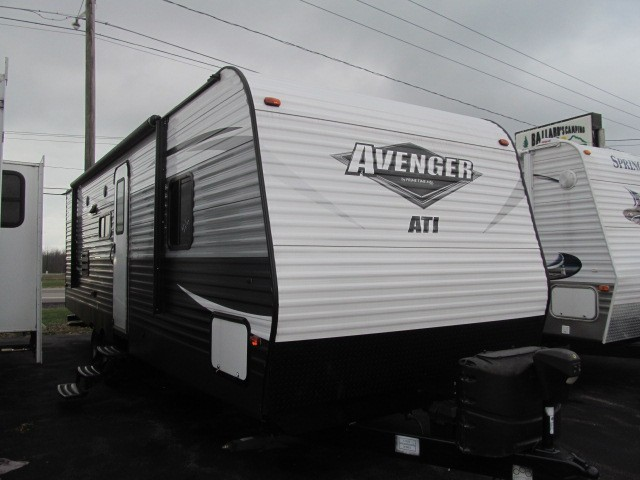 Used, 2018, Prime Time Manufacturing, Avenger 26BBS, Travel Trailers