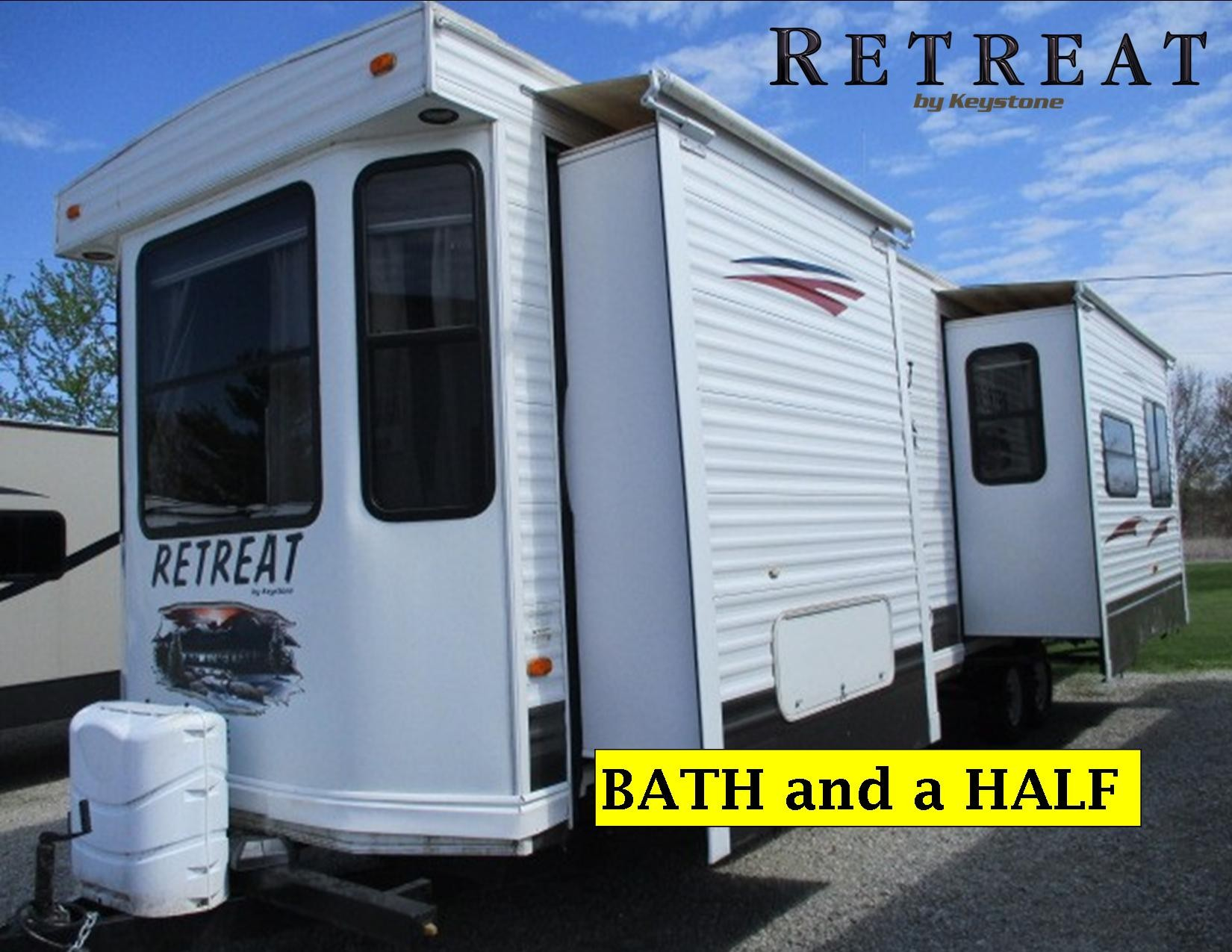 Used, 2010, Keystone, Retreat 39KBTS, Travel Trailers