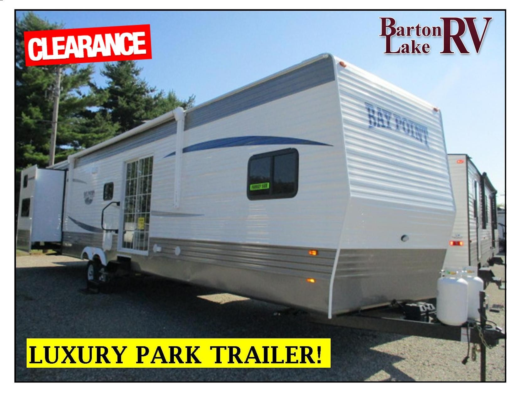New, 2021, Recreation by Design, BAY POINT 47SC, Park Models