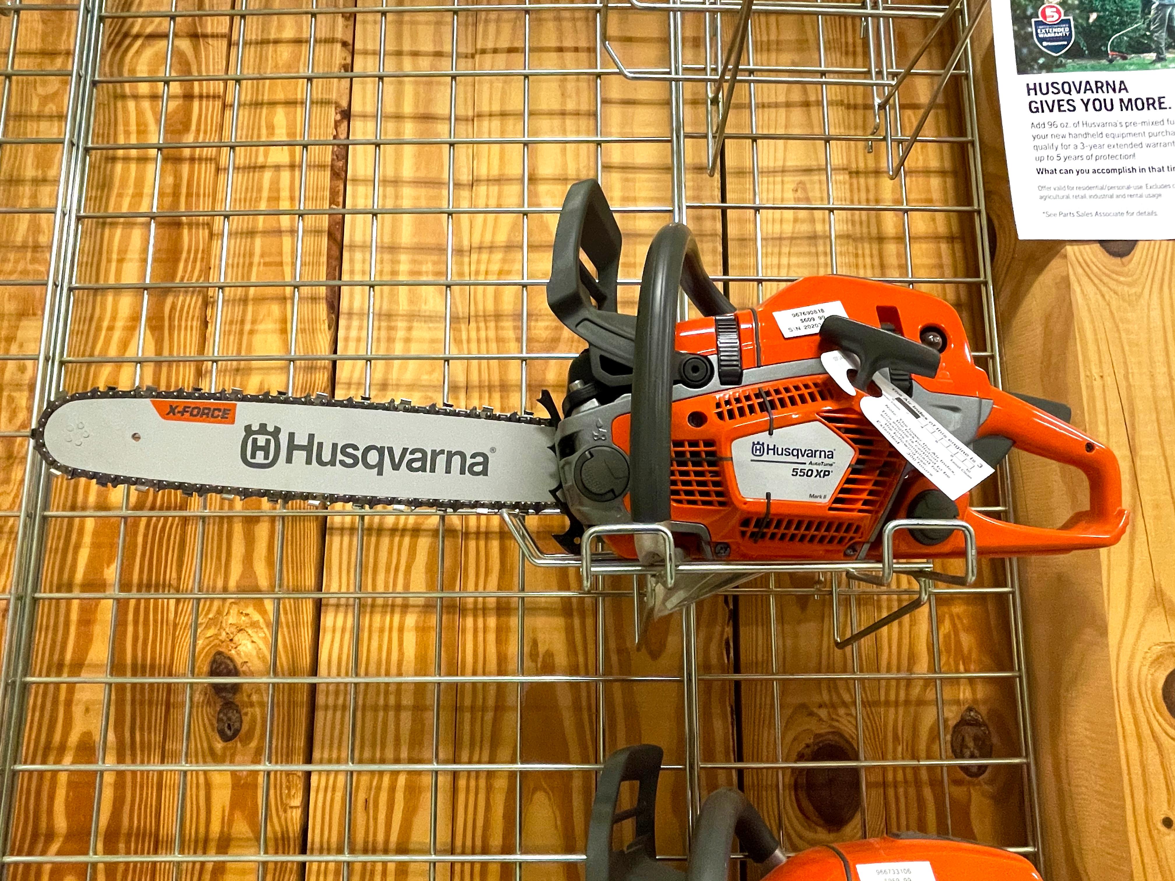 New, 2020, Husqvarna, 550 XP®, Power Equipment