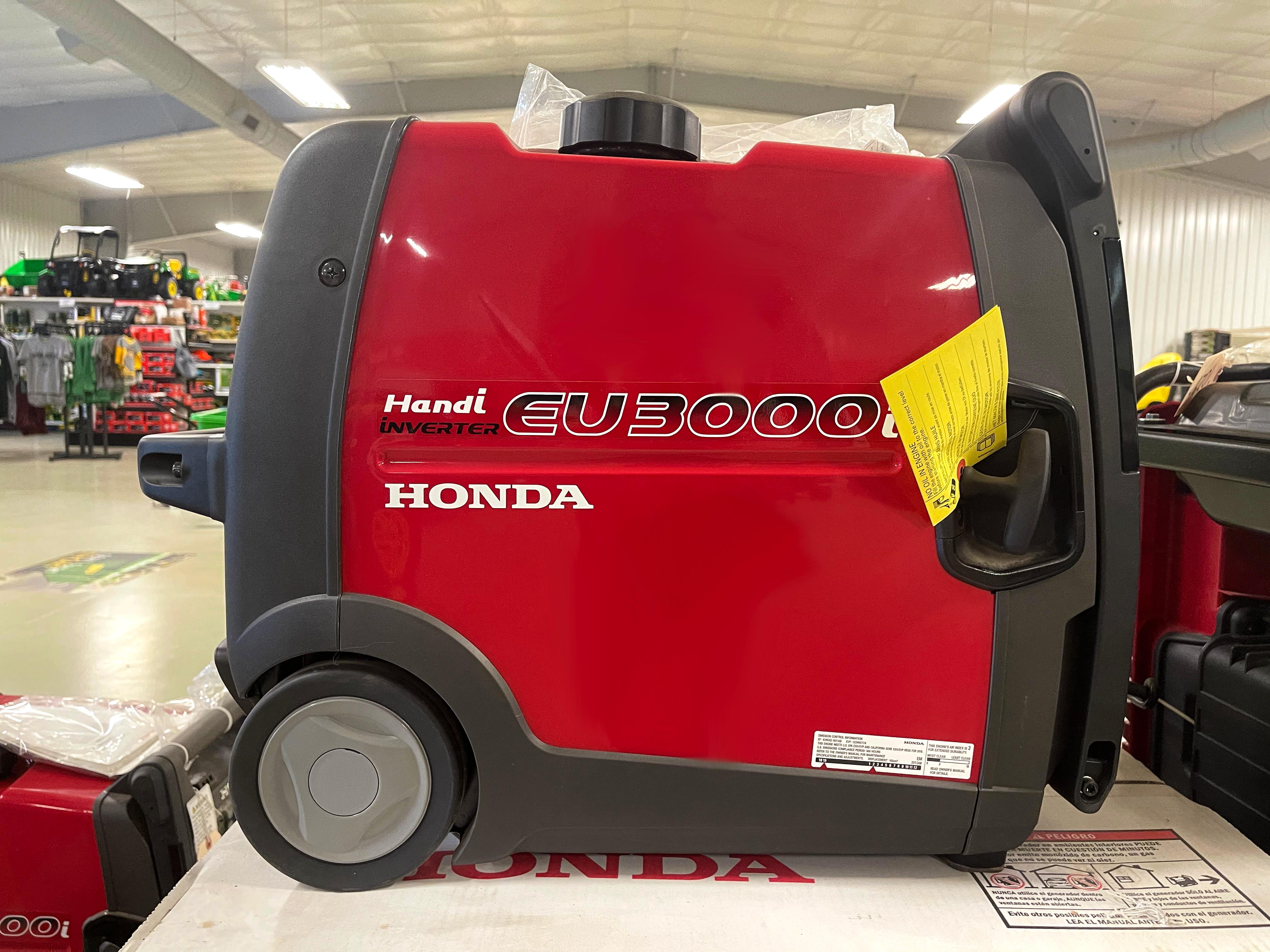New, 2019, Honda Power Equipment, EU3000i Handi, Power Equipment