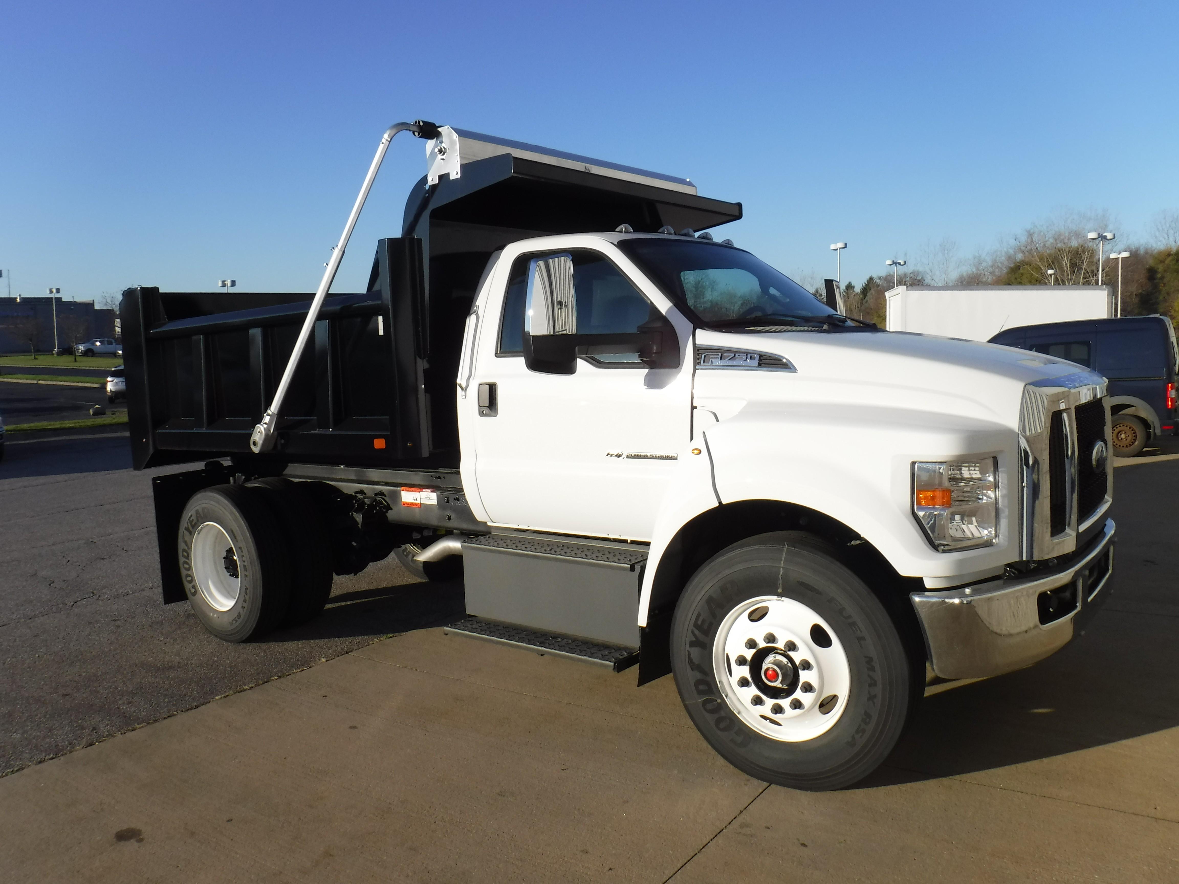 New, 2020, Ford, F-750, Dump Trucks