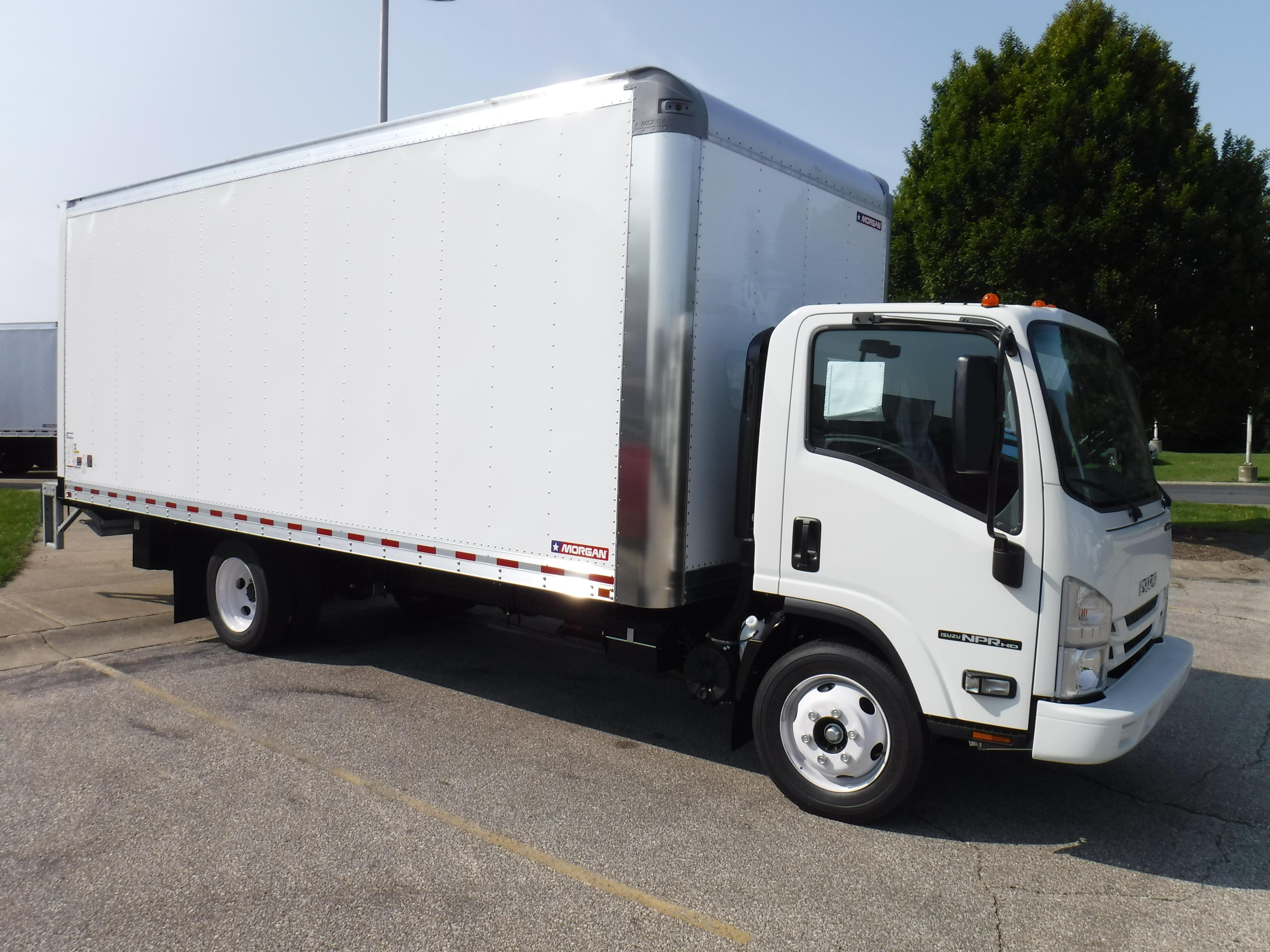 New, 2020, Isuzu, NPR-HD GAS, Van Trucks