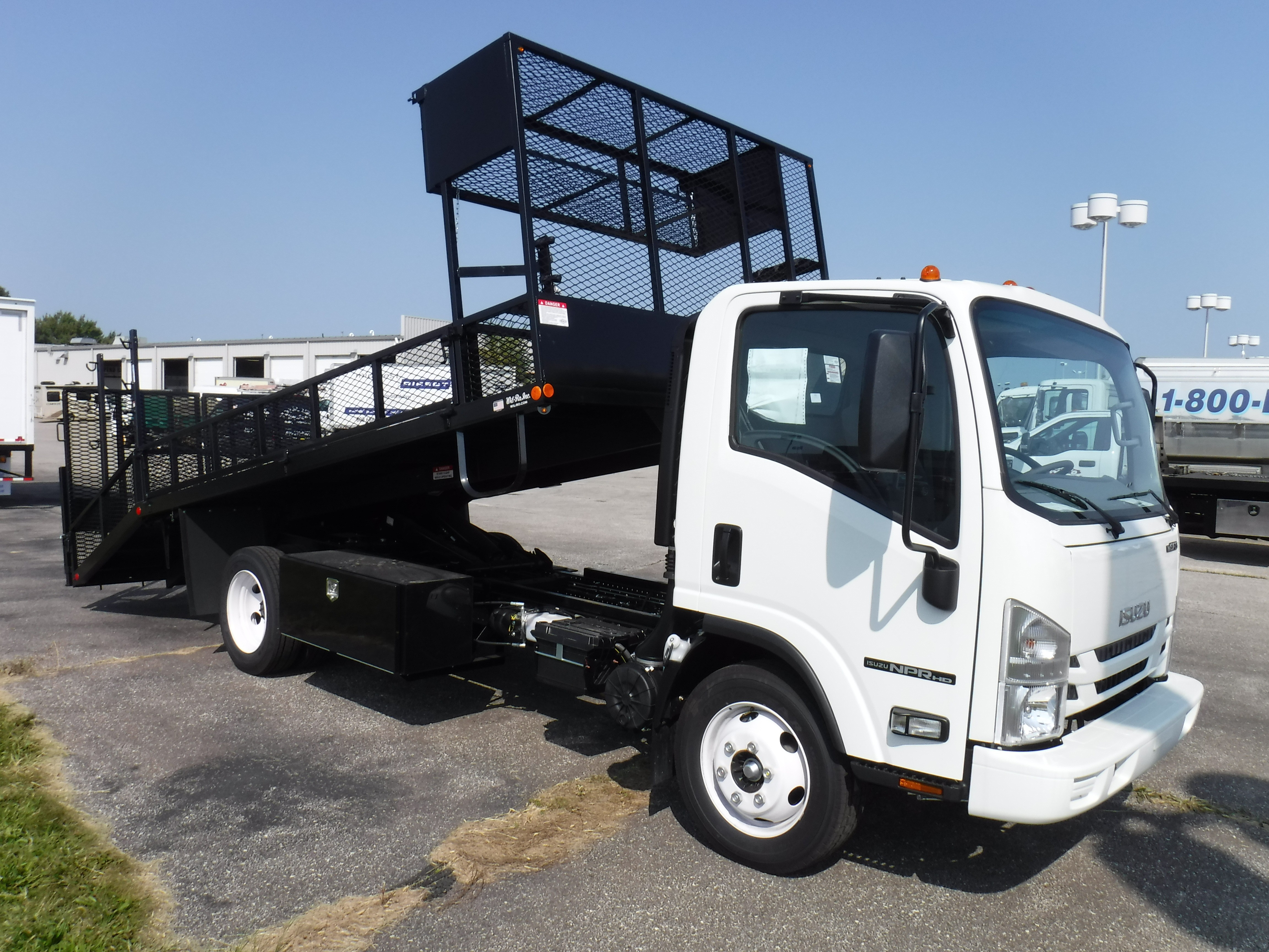 New, 2020, Isuzu, NPR-HD GAS, Landscape Trucks