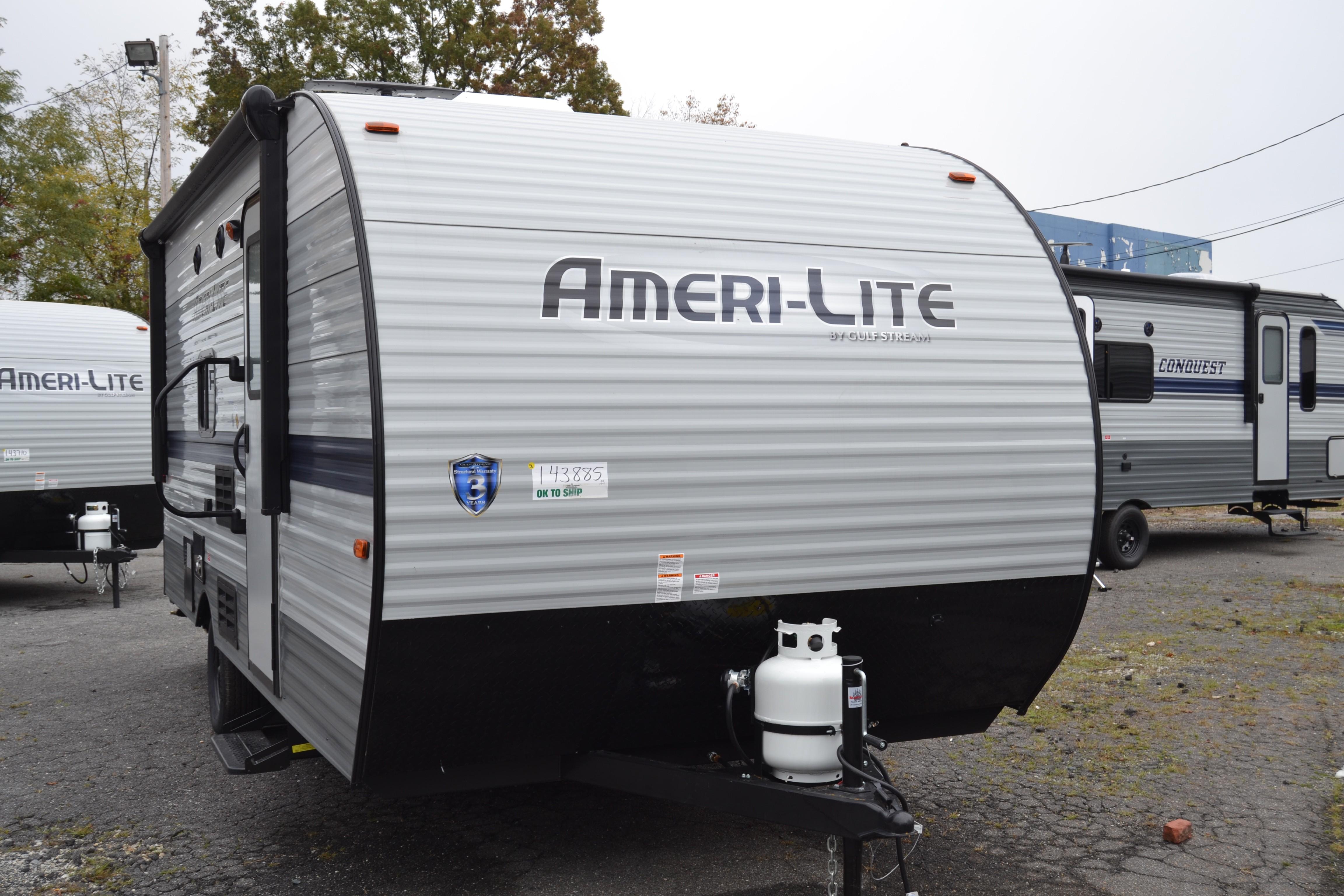 New, 2021, Ameri-Lite Super Lite, 198BH, Travel Trailers
