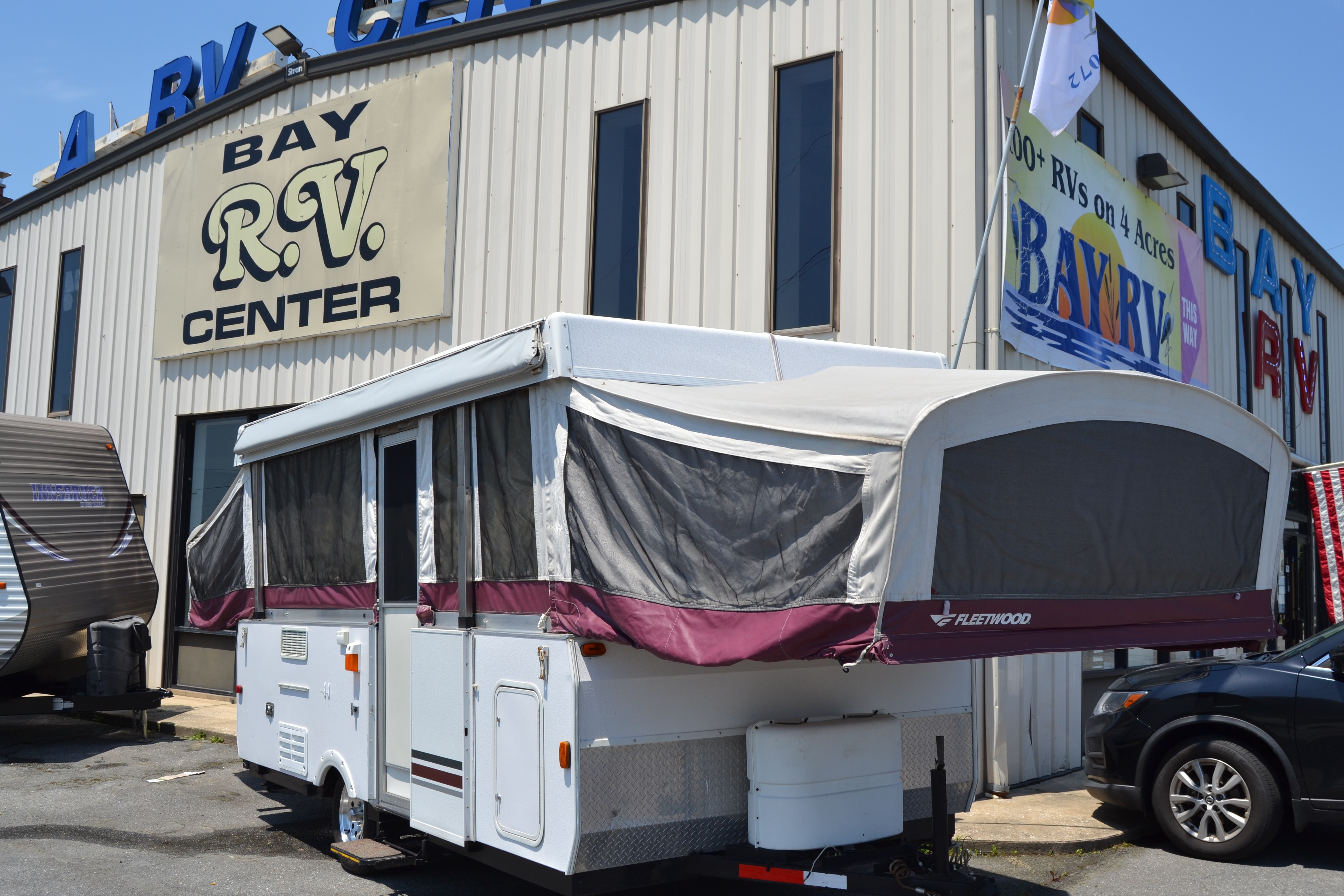 Used, 2006, Coleman Camping Trailers, FLEETWOOD COLEMAN NIAGARA, Pop-Up Campers