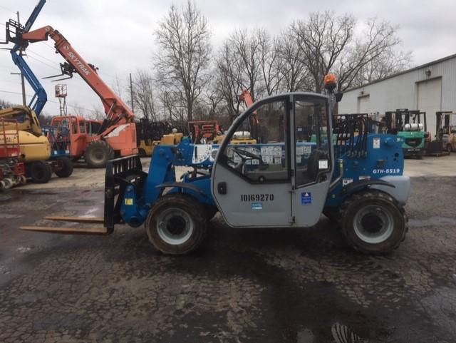 Used, 2018, Genie, GTH-5519, Forklifts / Lift Trucks