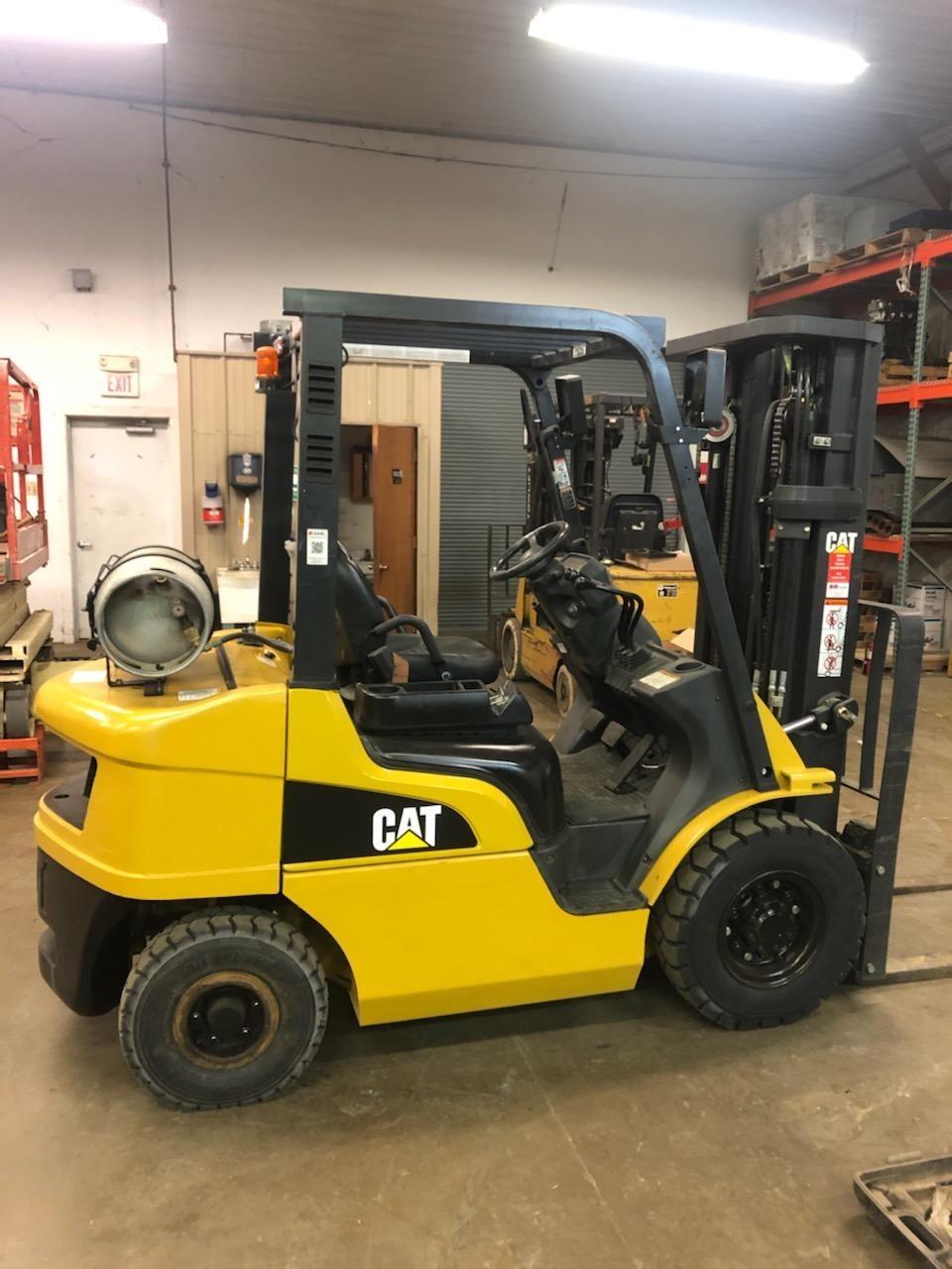 Used, 2017, CAT, GP25N, Forklifts / Lift Trucks