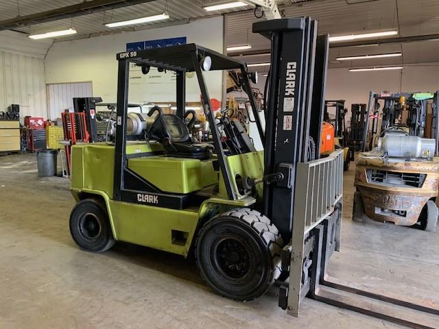 Used, 1993, CLARK, GPX-50, Forklifts / Lift Trucks
