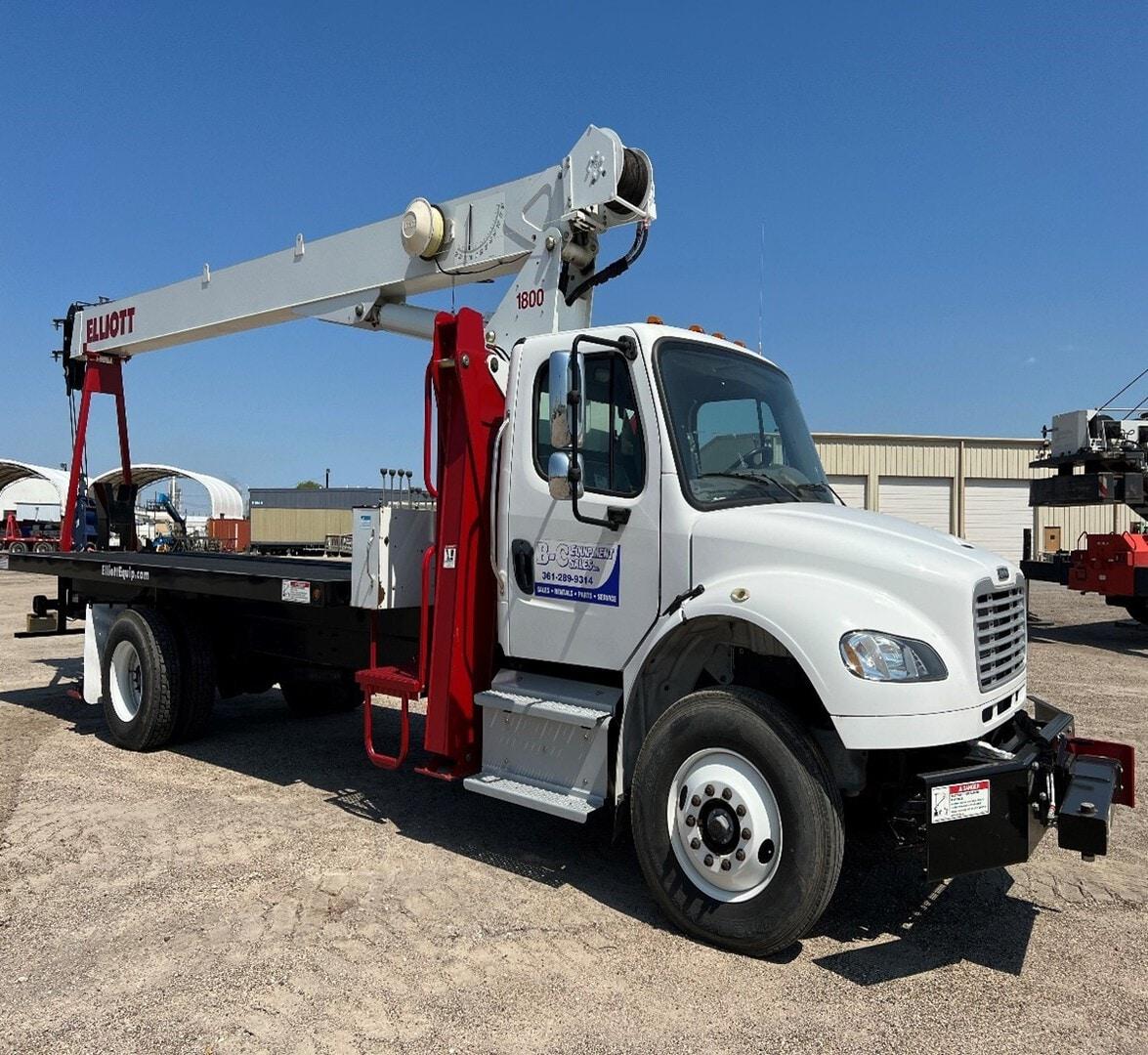 New, 2019, Elliott, BT1870F, Bucket / Boom Trucks