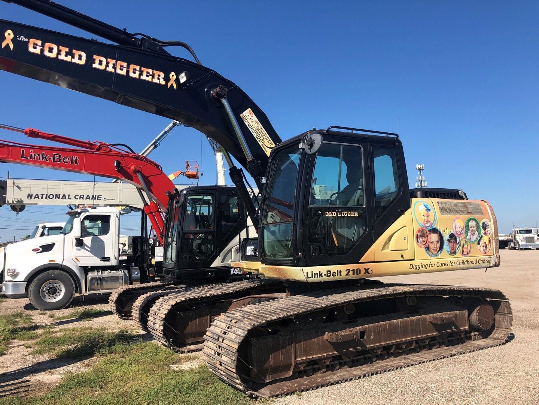 Used, 2013, Link-Belt Excavators (LBX), 210 X3, Excavators