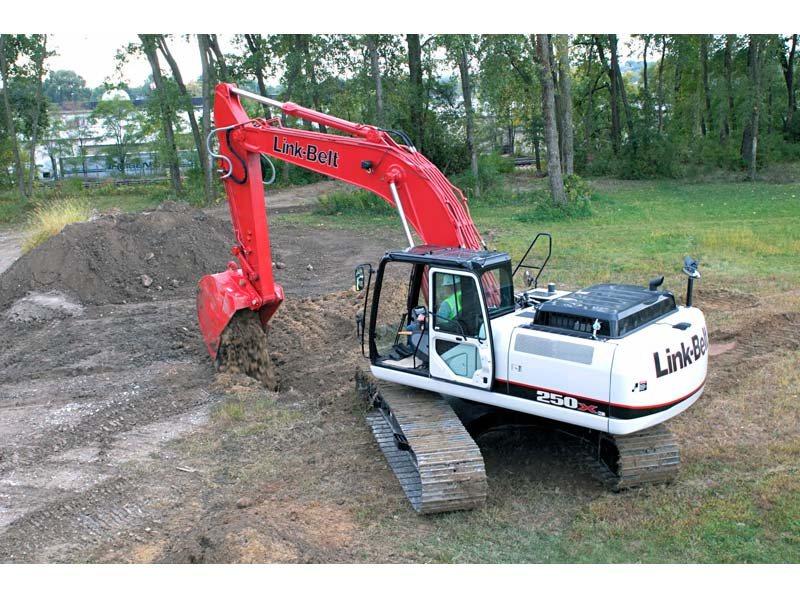 Used, 2014, Link-Belt Excavators (LBX), 250 X3, Excavators
