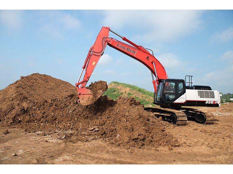 Used, 2015, Link-Belt Excavators (LBX), 350 X4, Excavators