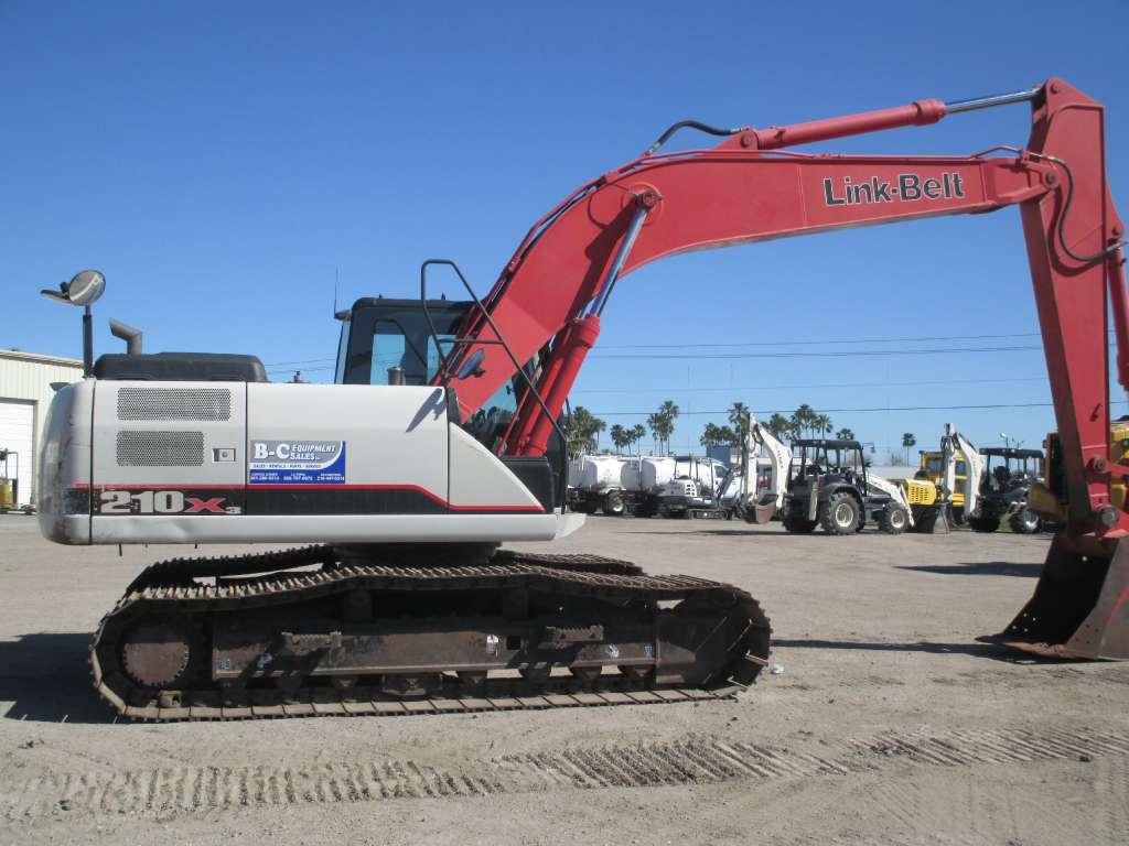 Used, 2012, Link-Belt Excavators (LBX), 210 X3, Excavators