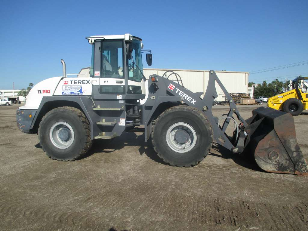Used, 2011, Terex, TL210, Loaders