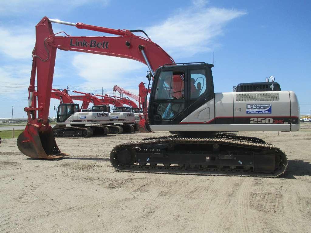 Used, 2013, Link-Belt Excavators (LBX), 250 X3, Excavators