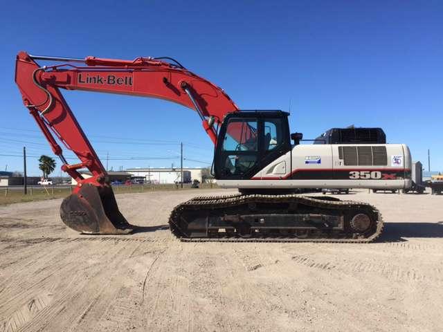 Used, 2014, Link-Belt Excavators (LBX), 350 X3, Excavators